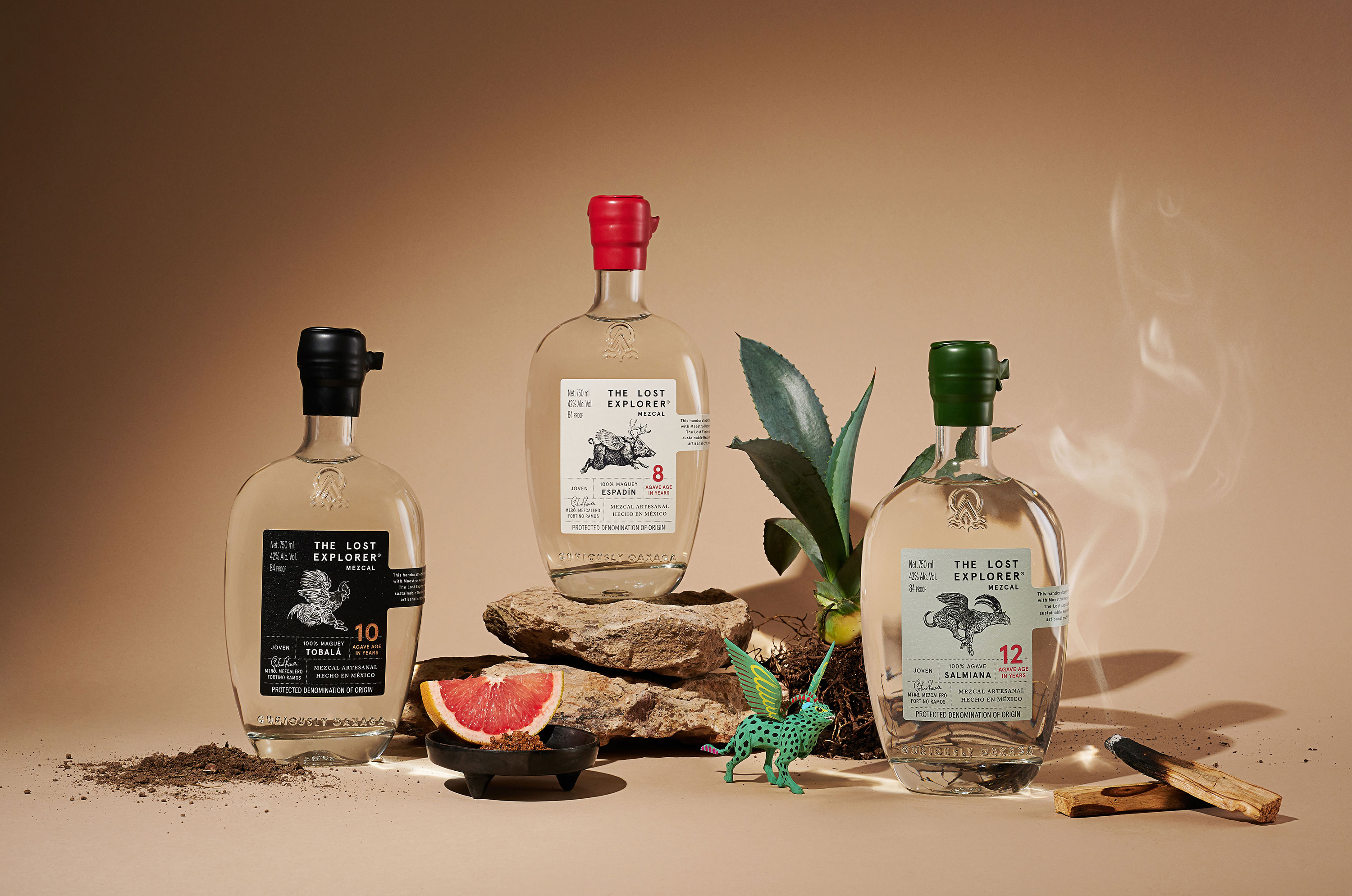 Art Direction and Design for a New Mexican UK Mezcal Brand