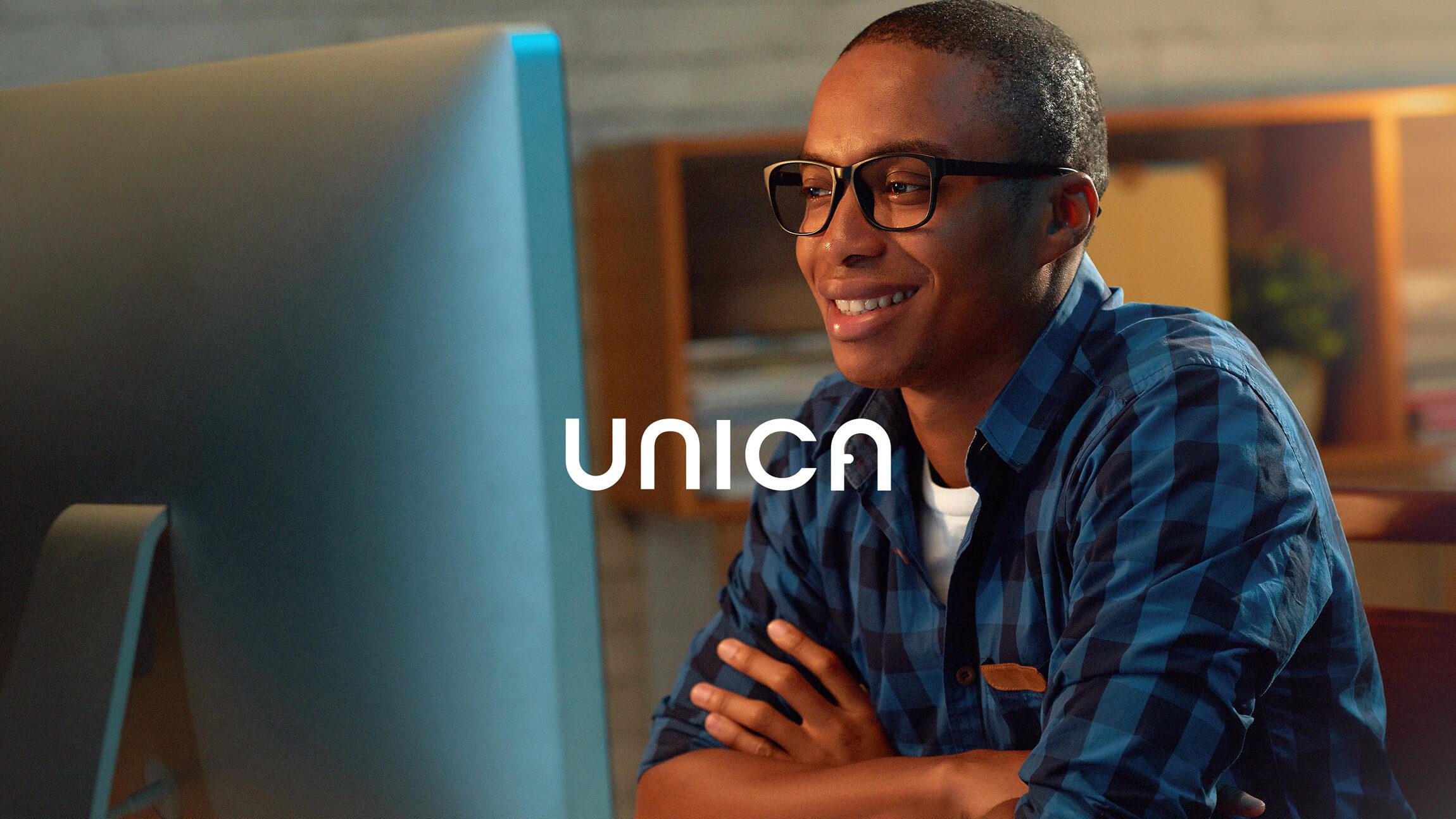 Visual Identity for Unica Education by Samuel Santos Design