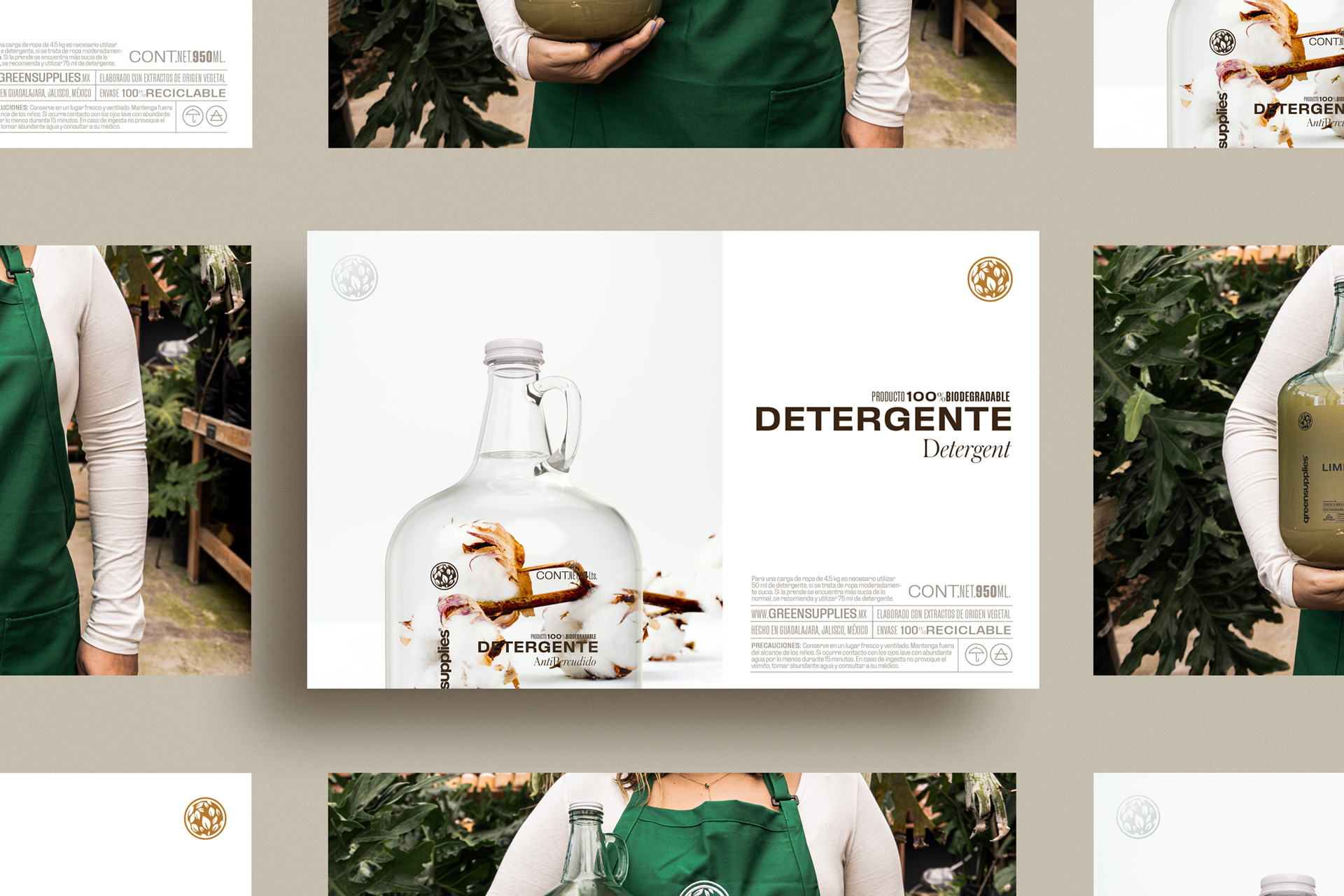 Nacho Studio Create Eco Branding and Packaging Design for GreenSupplies Brand