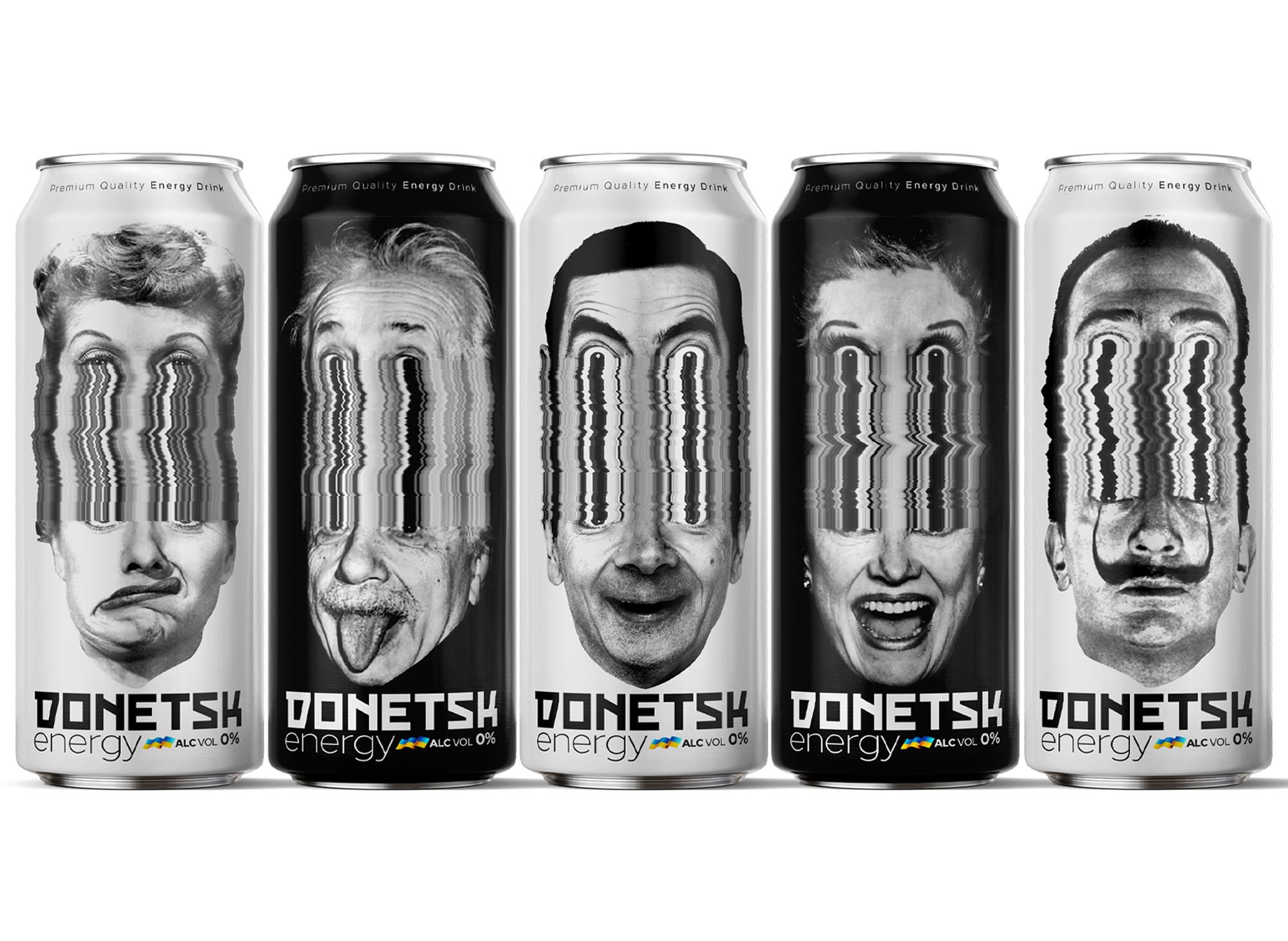 Studio Metis Agency Designed Donetsk Energy Drink