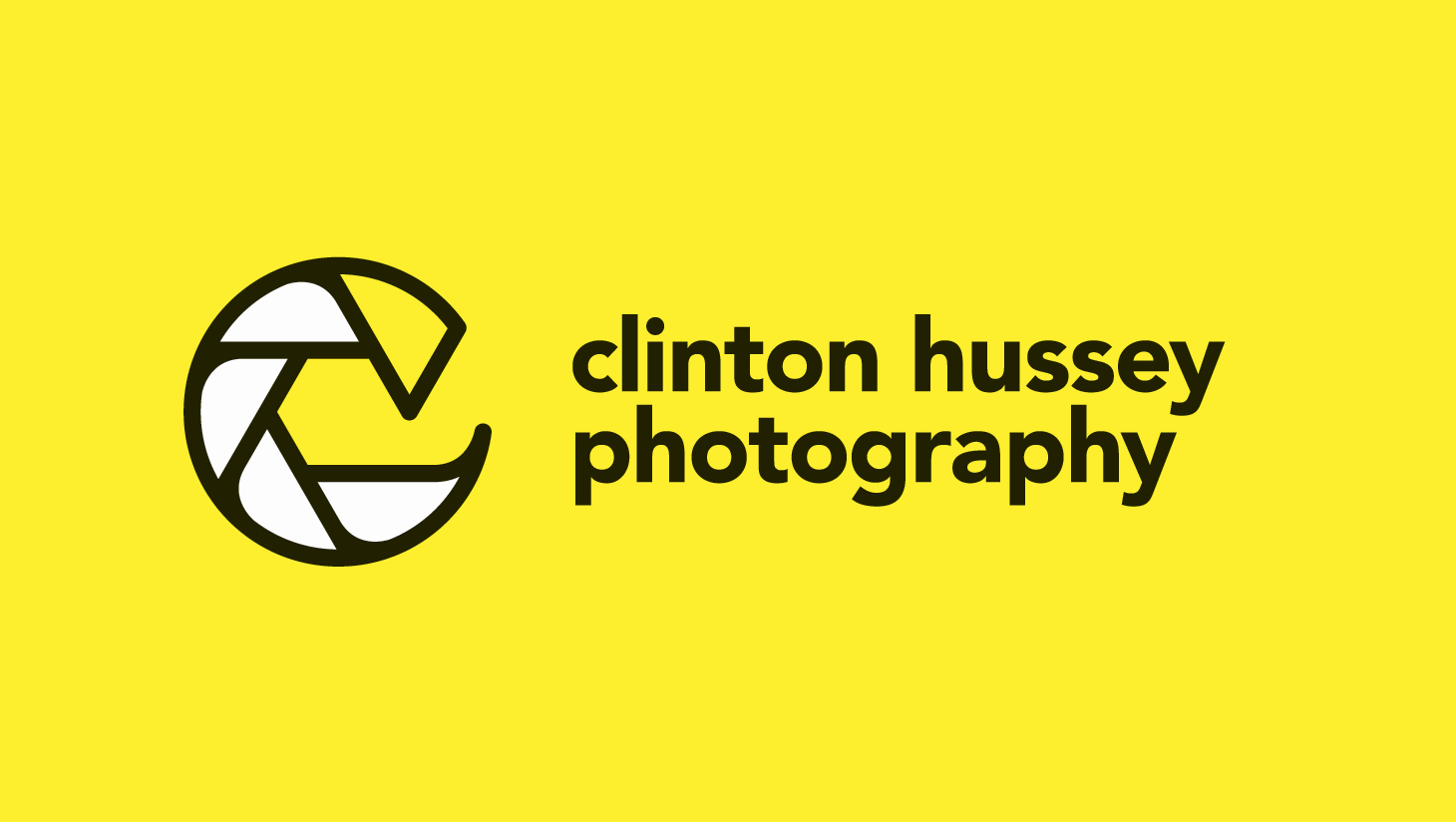 Clinton Hussey Photography Branding Get Revisited by Subplot Design Inc