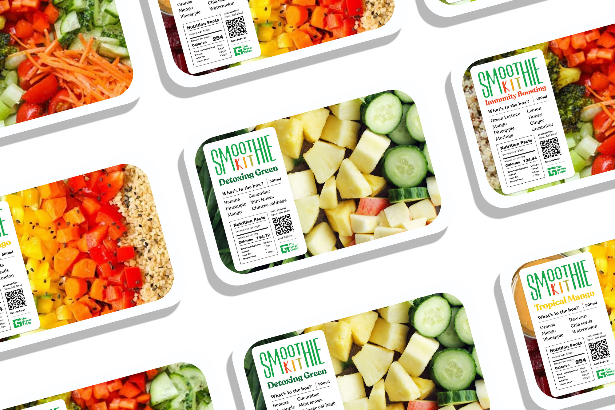 Tribox Design Creates The Green Table Brand Identity