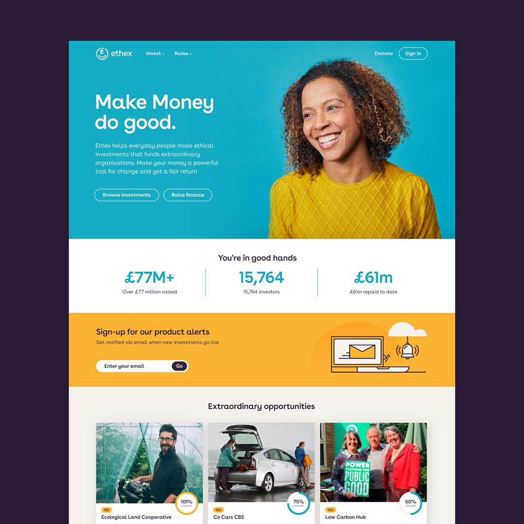 Thisaway Rebrands Social Investment Platform Ethex