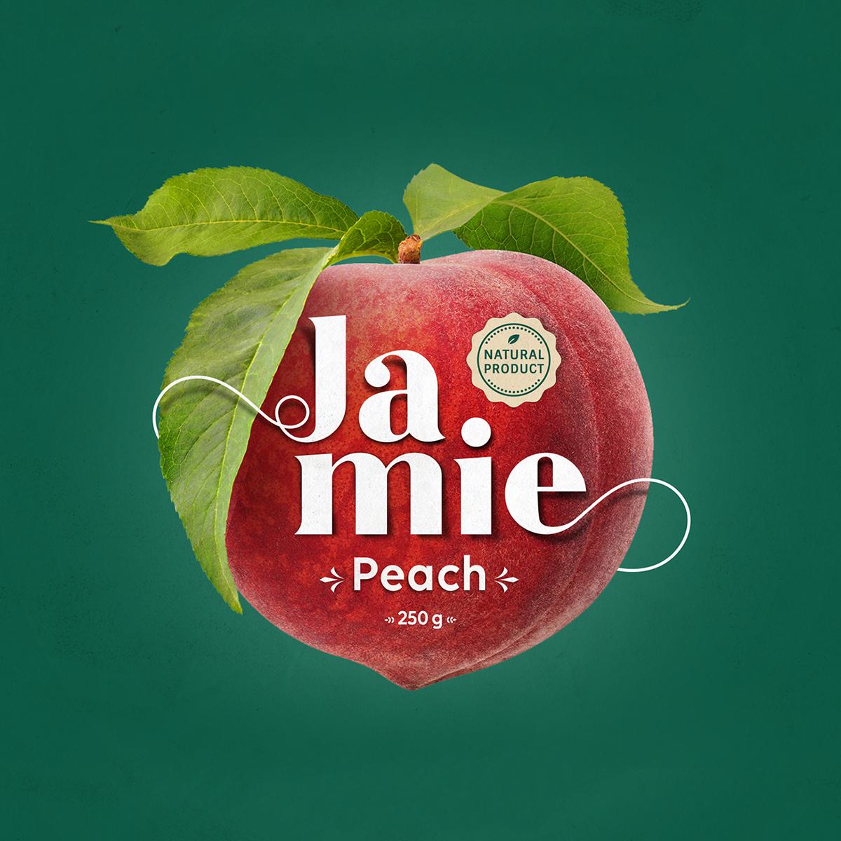 Jamie Jam Packaging Design by Mohammed Mounir