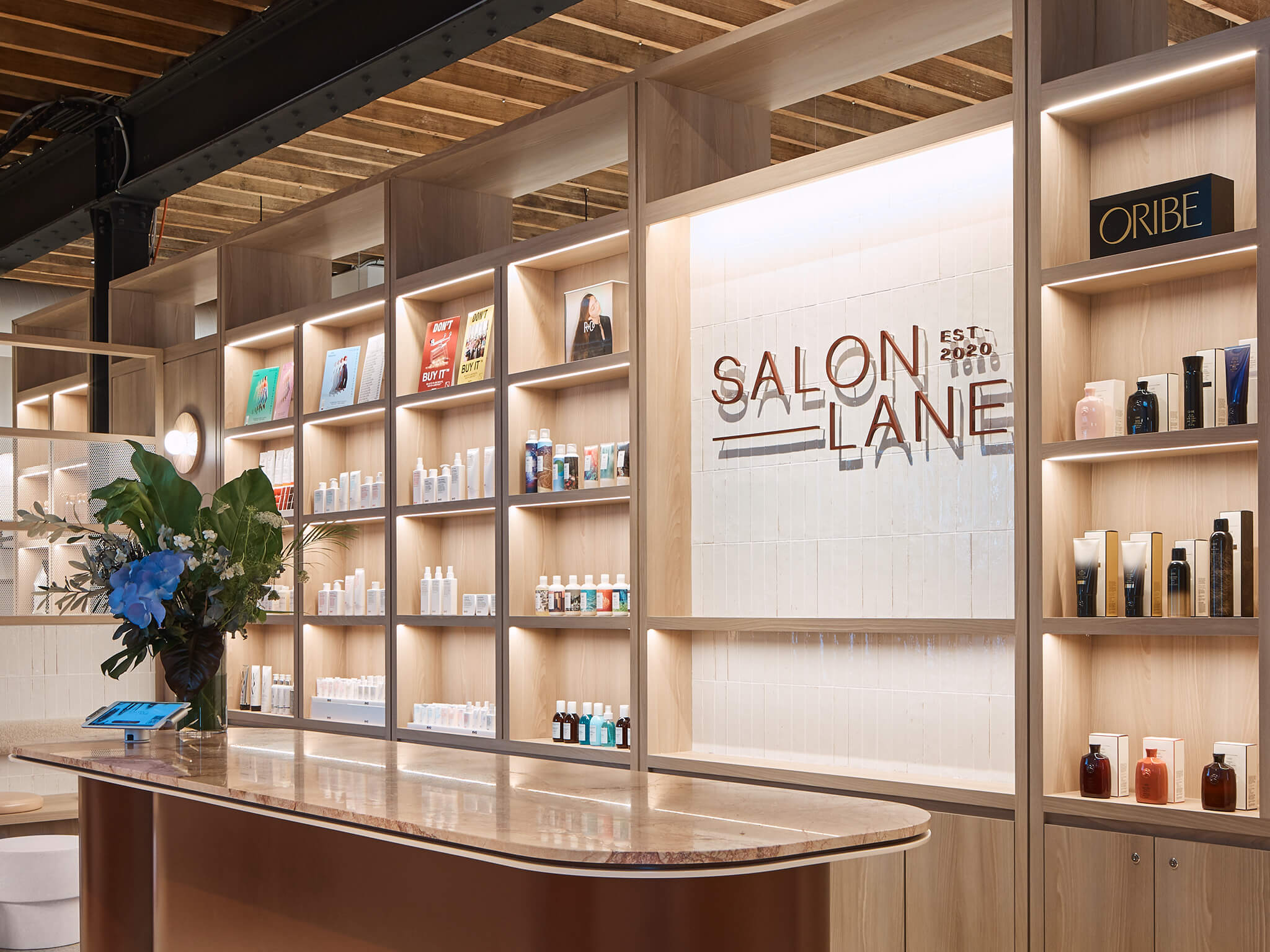 SomeOne Sydney Create Branding for New Flexible Concept Space Salon Lane
