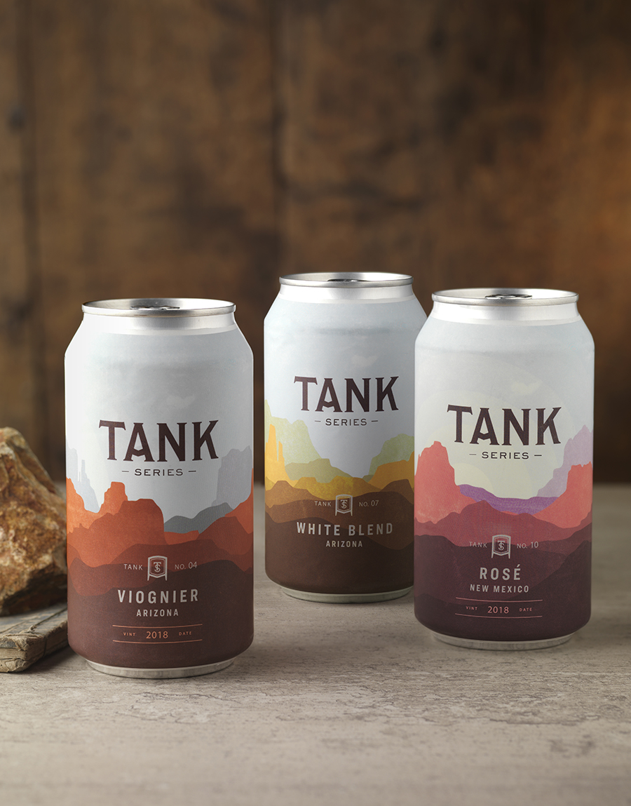 CF Napa's Design for Tank Series Canned Wine