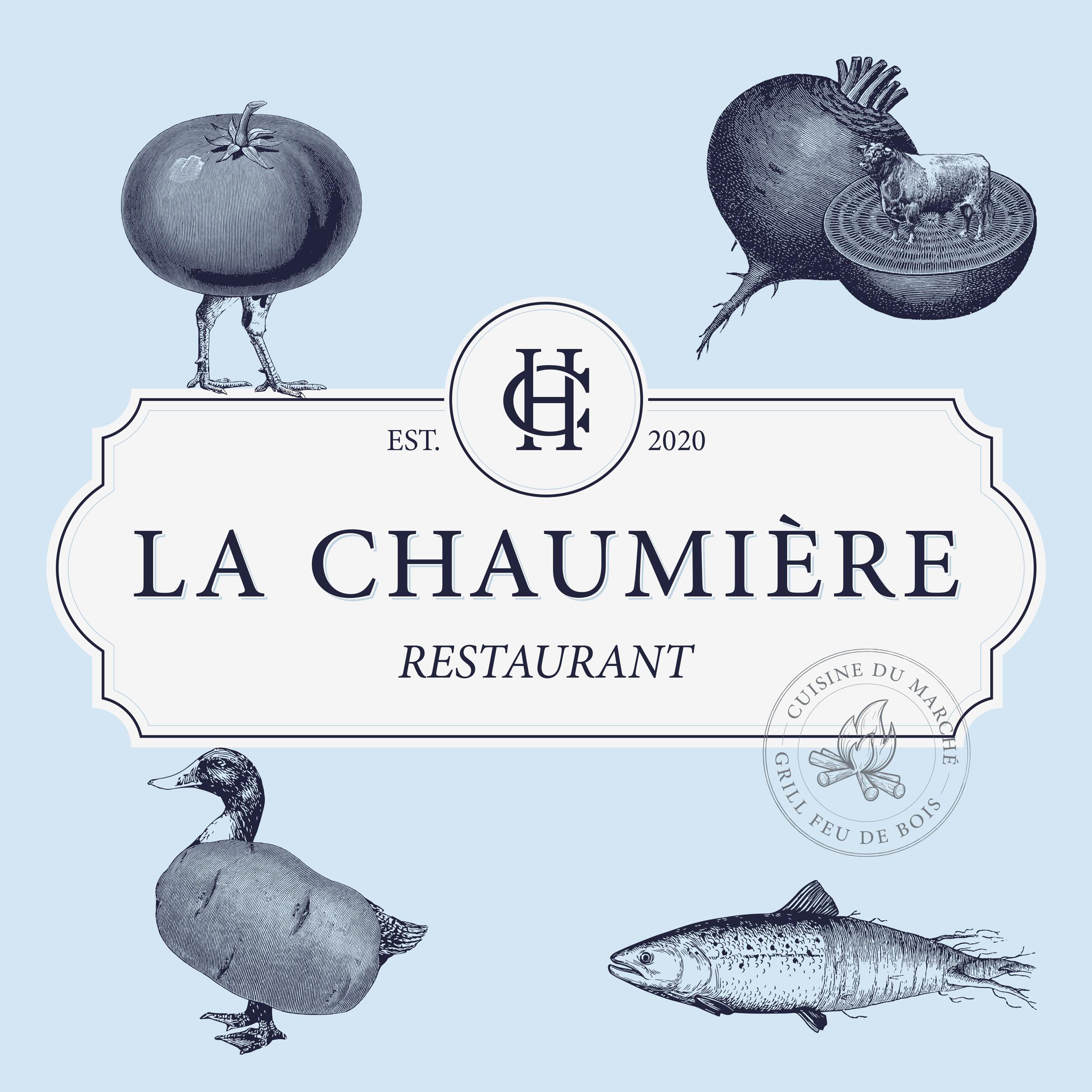 Buckwild Create Identity and Branding for La Chaumière