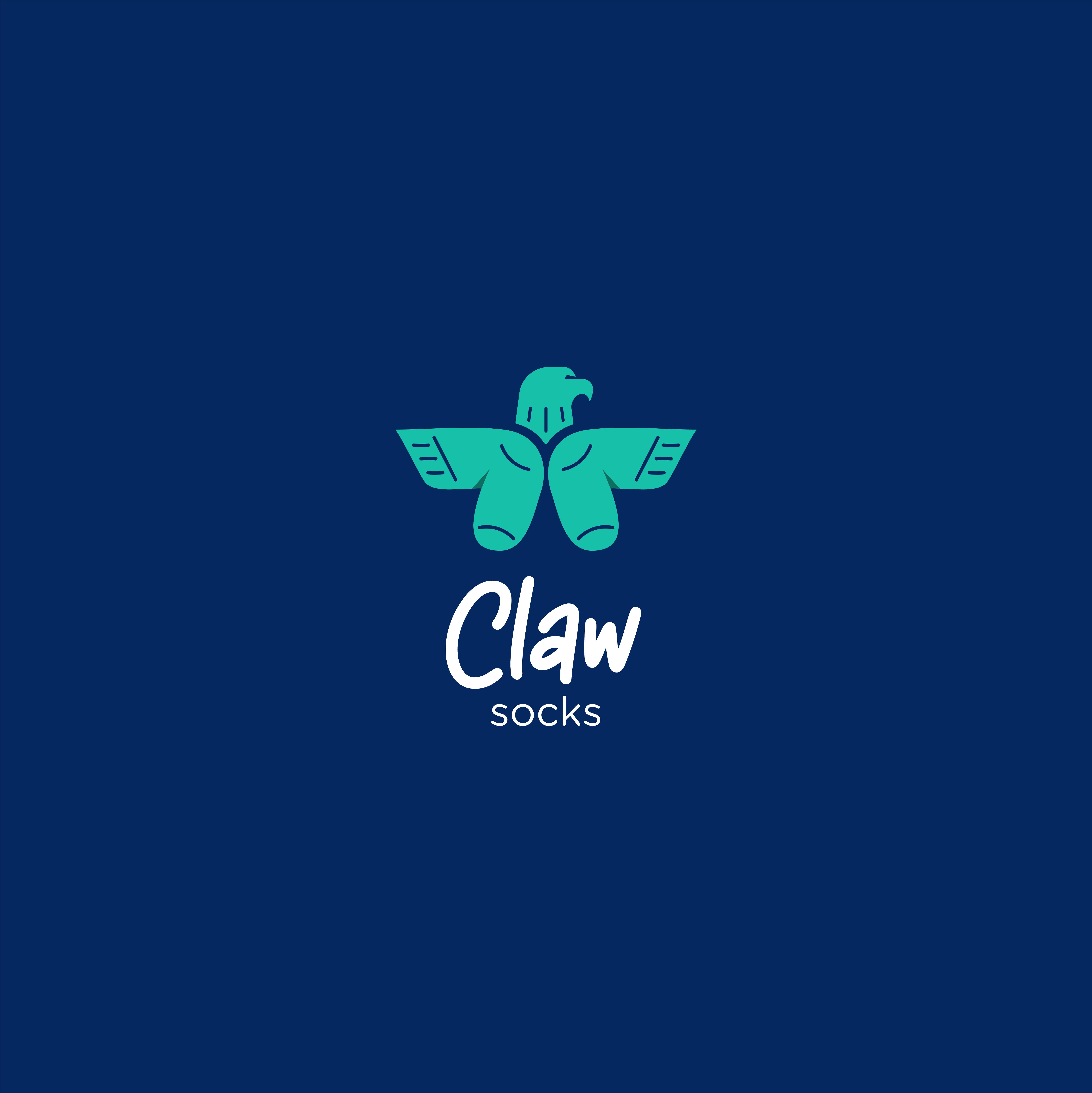 Eslam Ramzi Design Create Branding Claw Socks Brand from Saudi Arabia