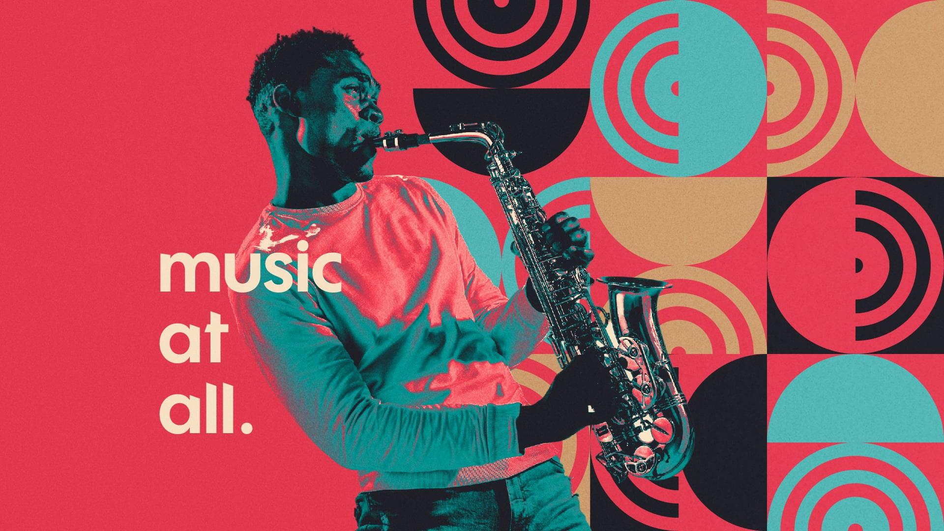 Matheus Ferreira Creates Branding for a Music School Deejay's