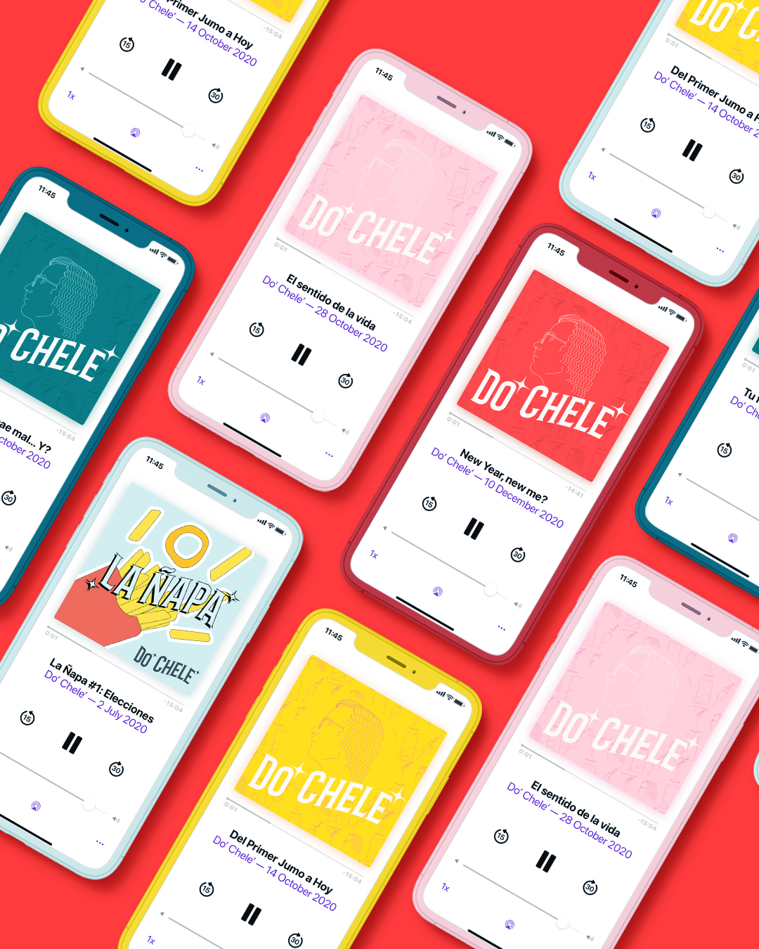 Agency Design Mophing Creates New Brand Identity Do' Chele' Podcast