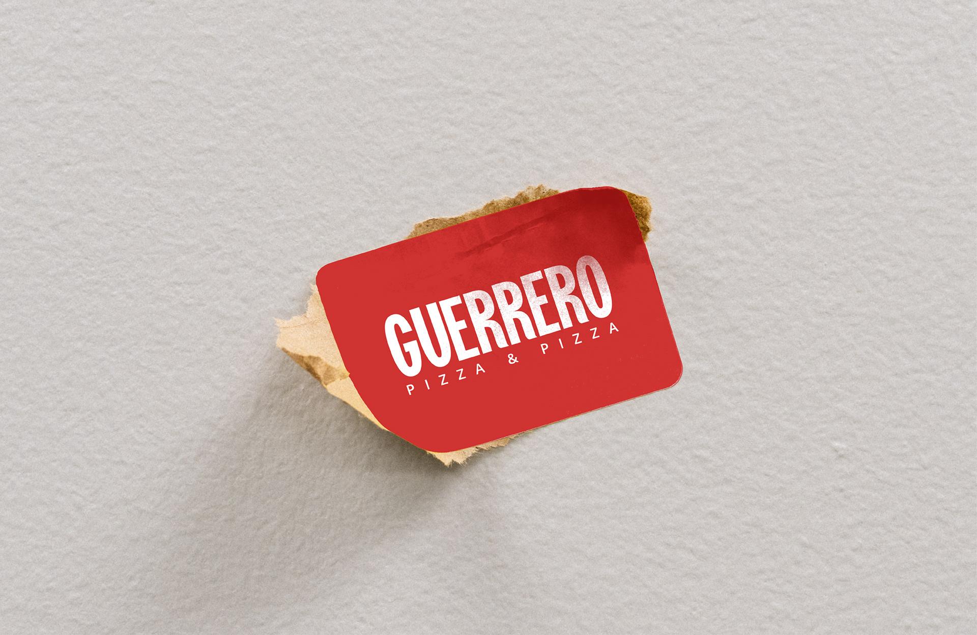Brand Identity Created for Guerrero by Alejo Ojeda