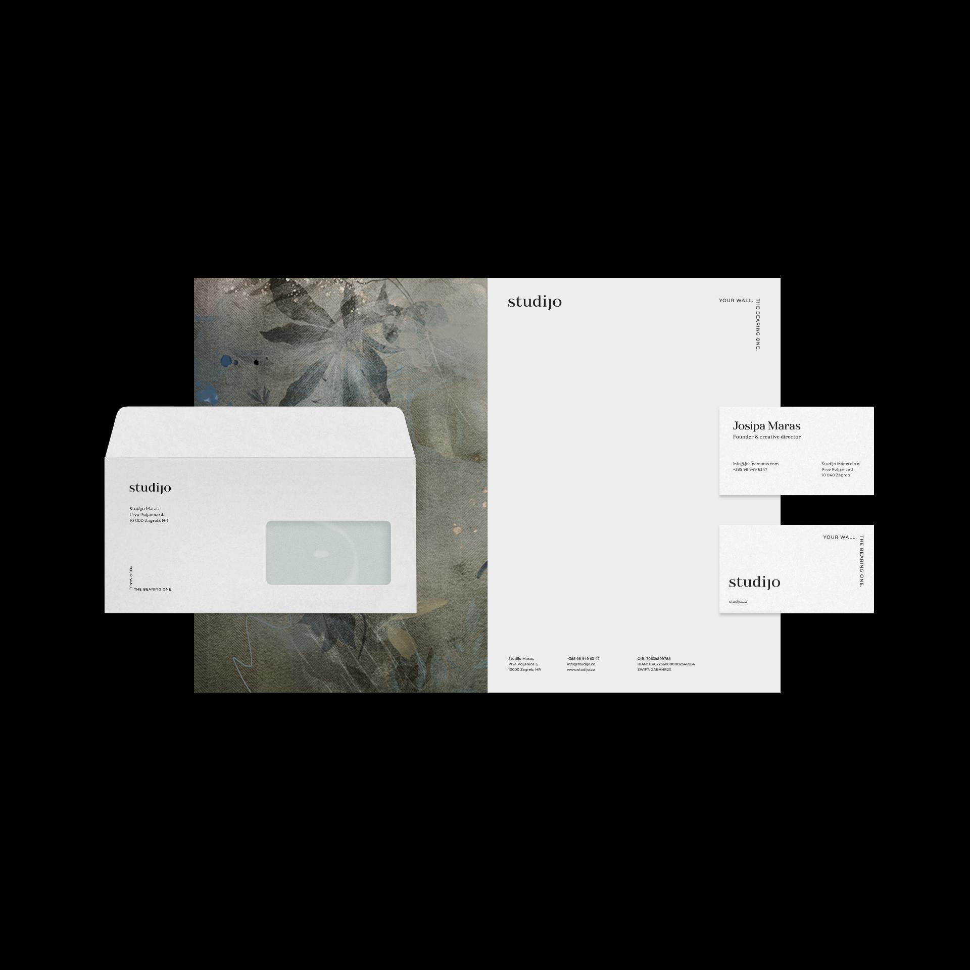 Emtisquare Create Visual Identity for Interior Design Company Studijo from Croatia