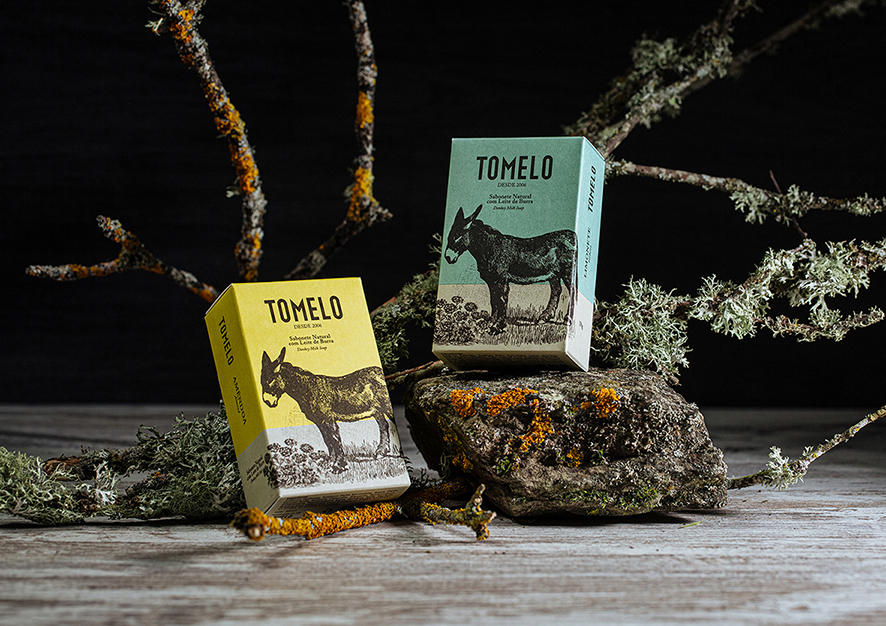 Tomelo Eco Range Soap Packaging Design Created by pmdesign
