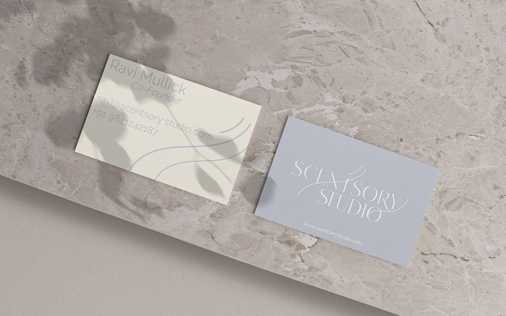 Brand Identity Design for Scentsory Studio by Sunaina Mehrotra
