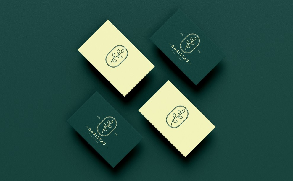 Branding for Baristas Coffee Shop Chain in the Middle East