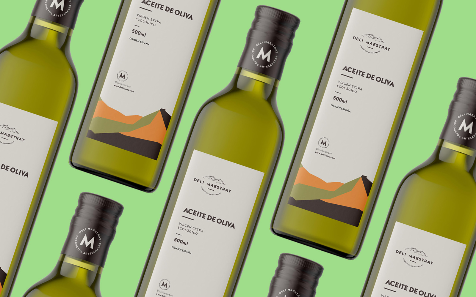 Pistacho Studio Creates a New Labels Design for Deli Maestrat