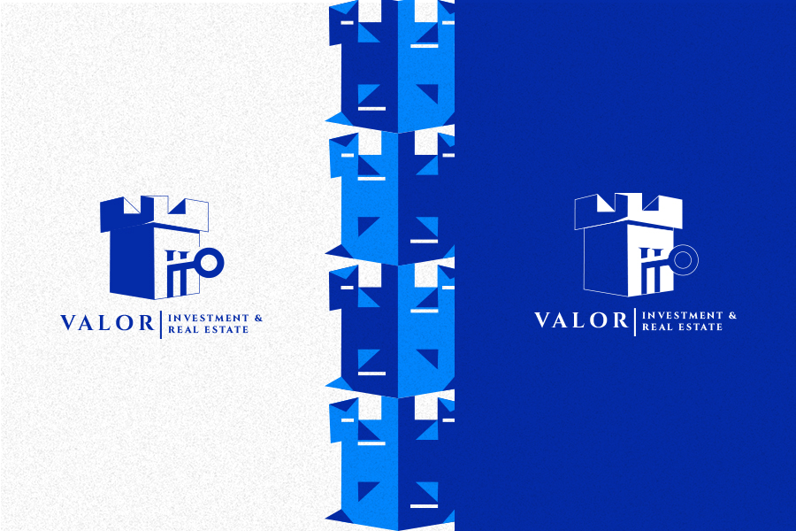 Shimaa Ibrahim El-ruby Creates Concept Branding for Real Estate and Investments Brand Valor