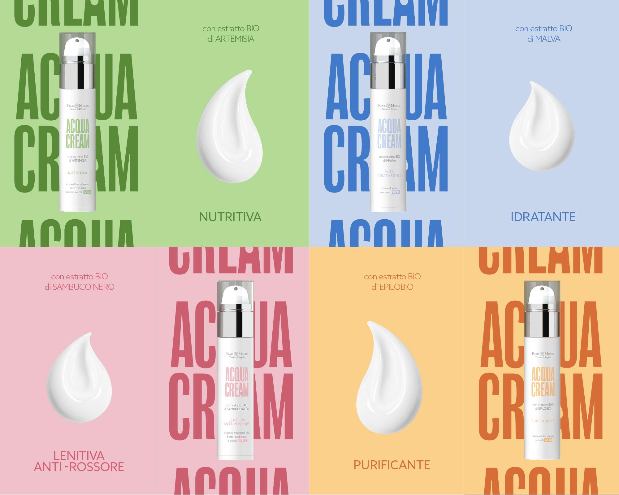 Thin Studio Creates a Fresh New Identity for Acqua Cream