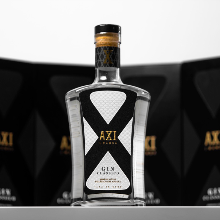 Bravo Design Agency Creates Axi Lwanda Gin Packaging Design