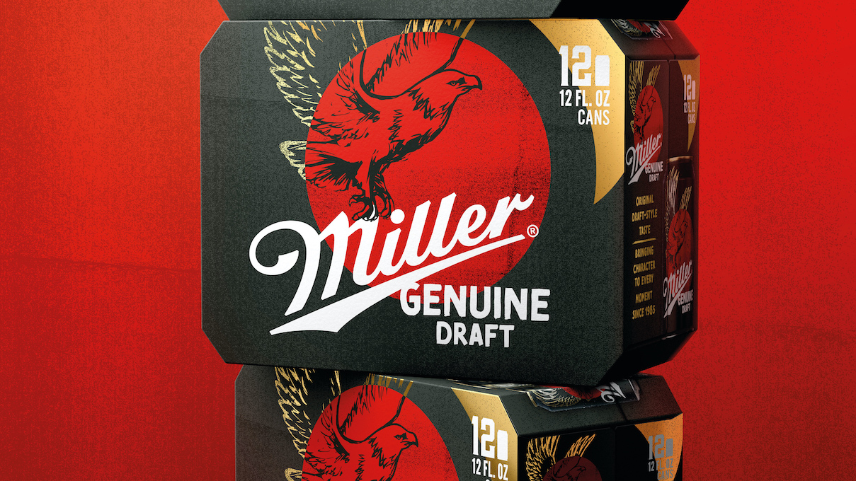 Miller Genuine Draft Recaptures 'Genuineness' With Brand Refresh by BrandOpus