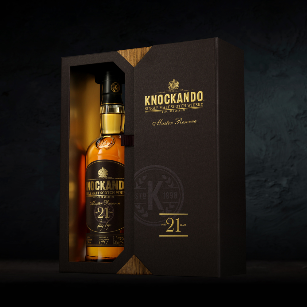 Maison Linea Creates Limited Edition Packaging Design for Knockando Single Malt Whisky