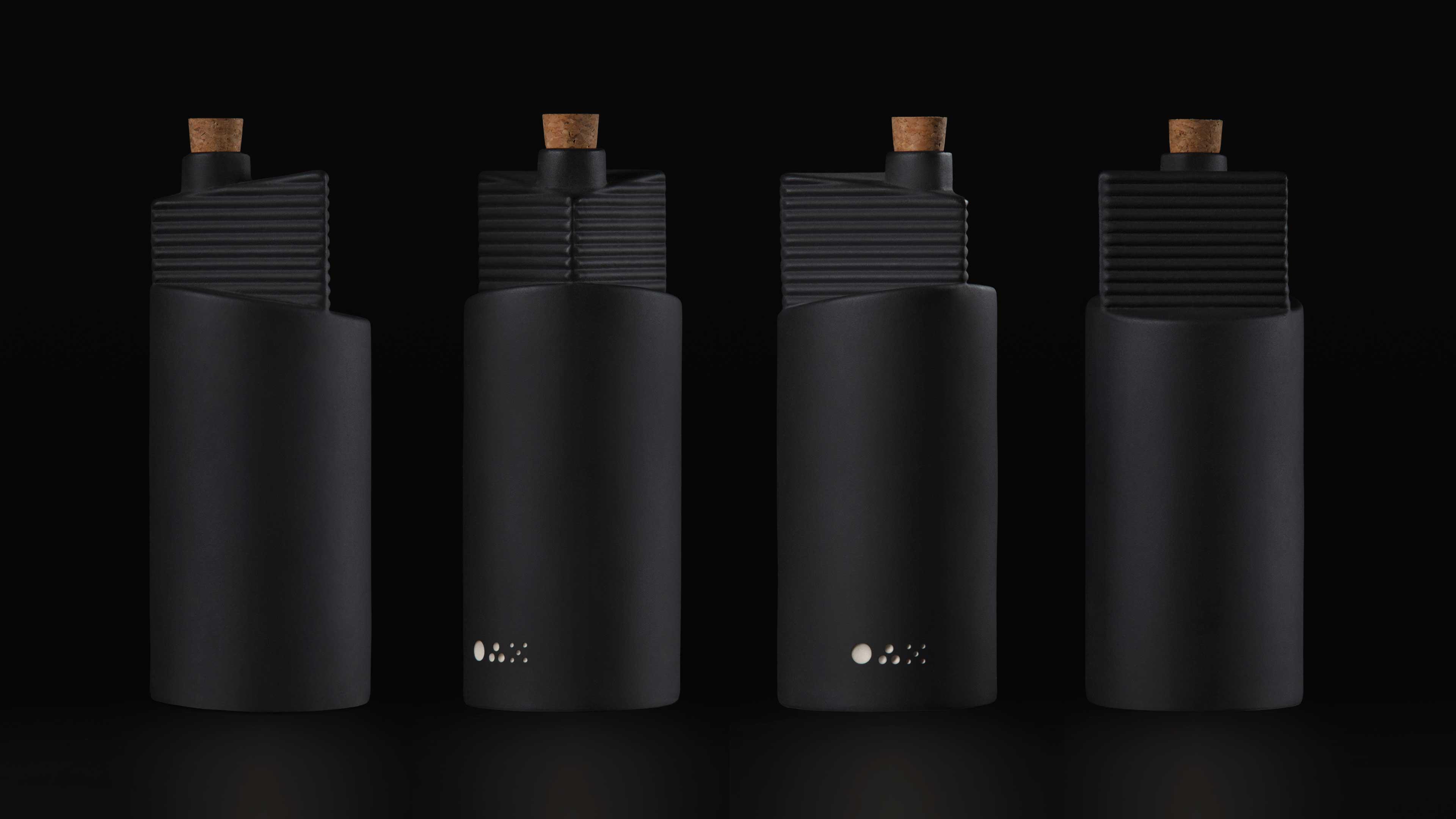 Bardo Industries Creates Custom Ceramic Bottles for Oax Original
