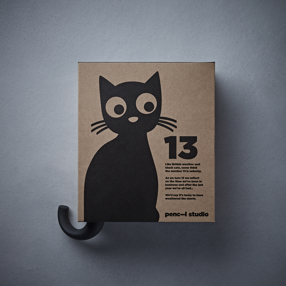 Promotional Mailer Celebrating Pencil Studio's 13th Anniversary
