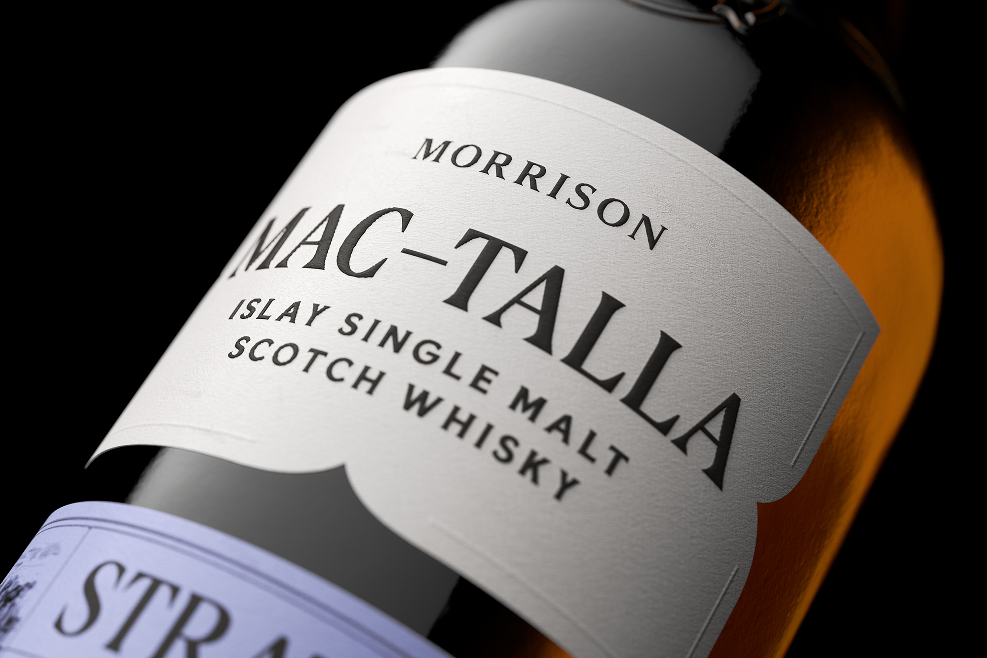 Thirst Craft Create Illustration and Packaging Design for Mac-Talla Islay Single Malt Scotch Whisky Range