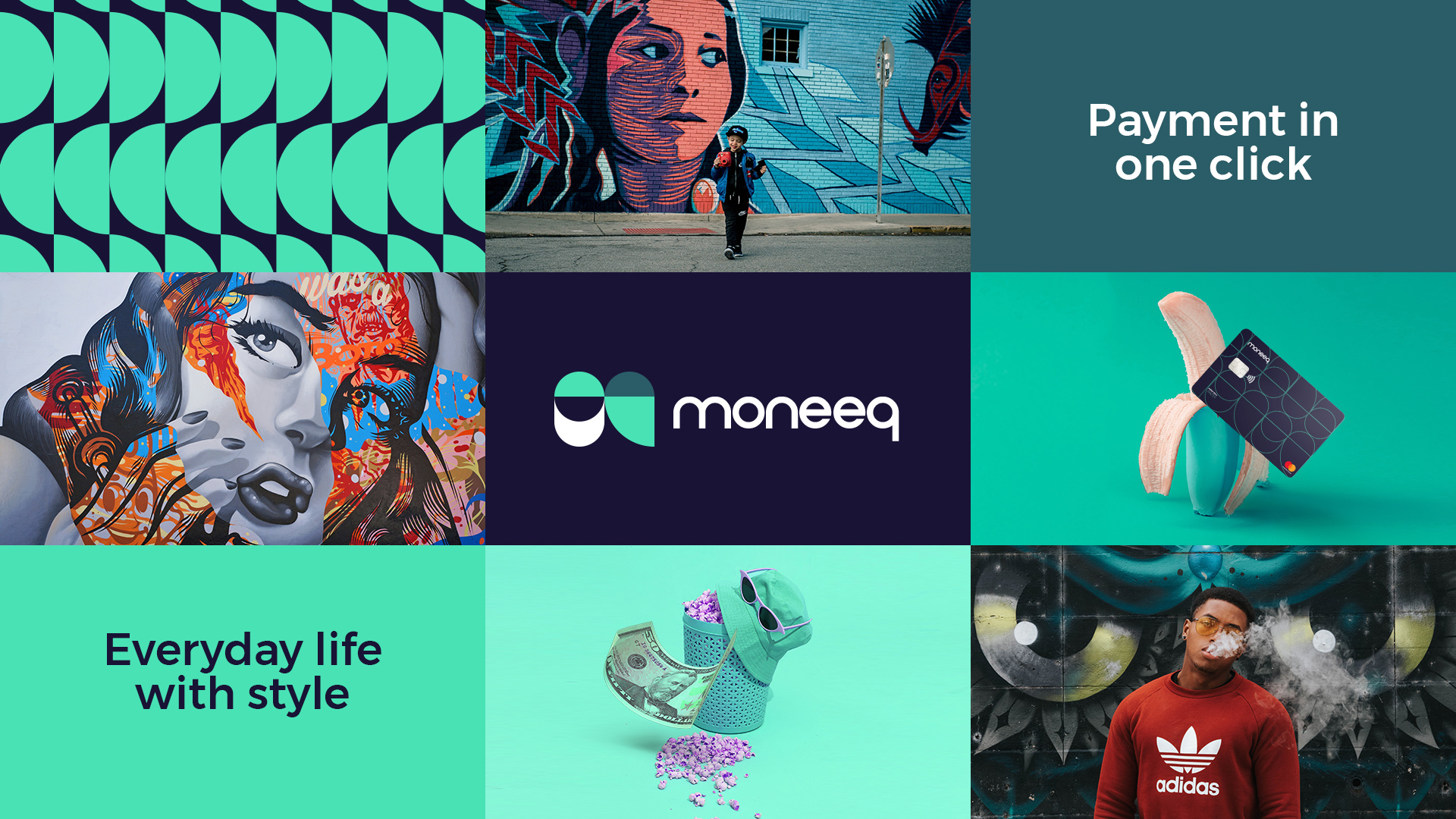 Moneeq Fintech Neobank From Singapore Branding by Vinille