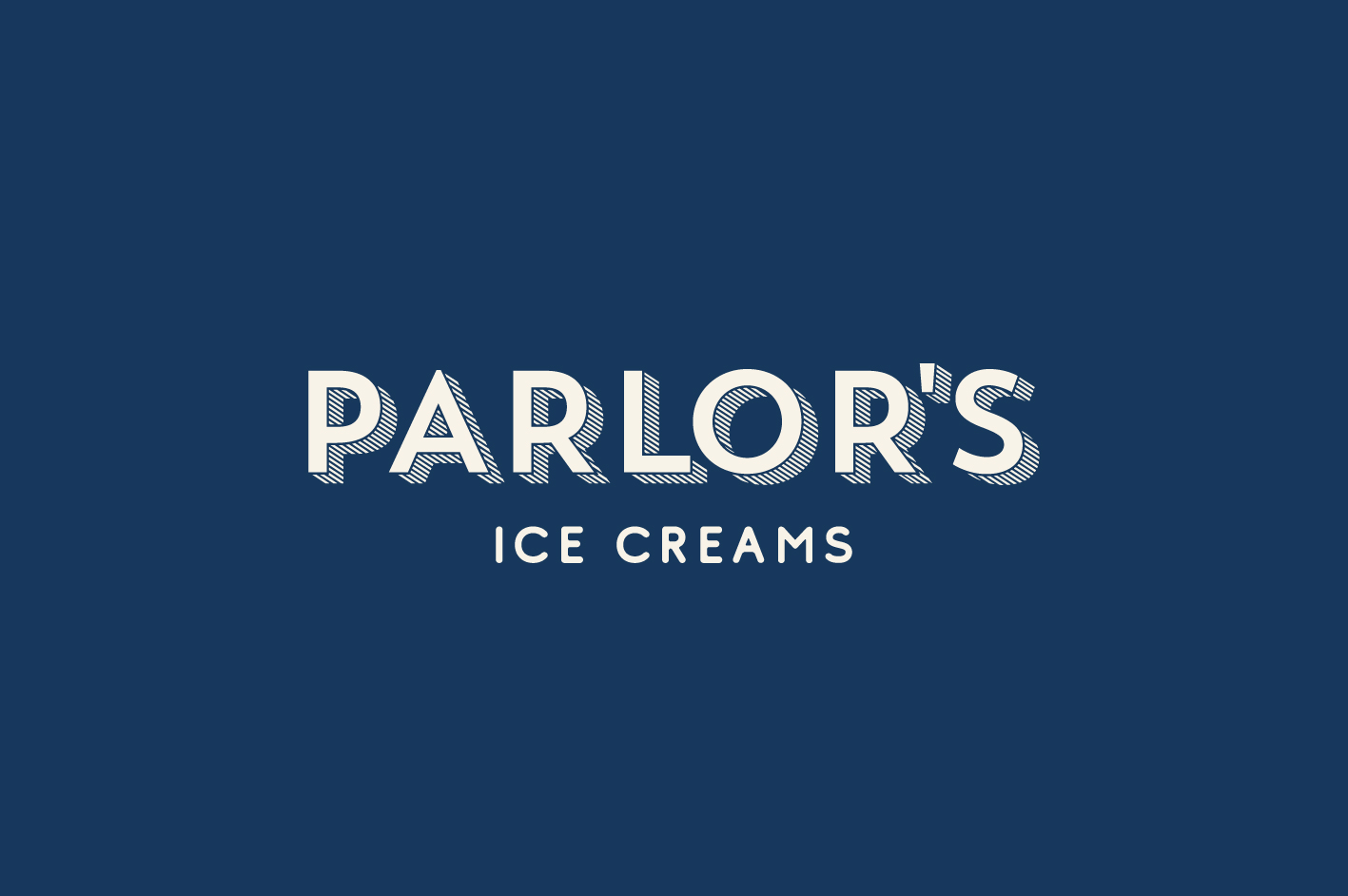 Madison Wooters Design Creates Branding for Parlour's Ice Cream Shop