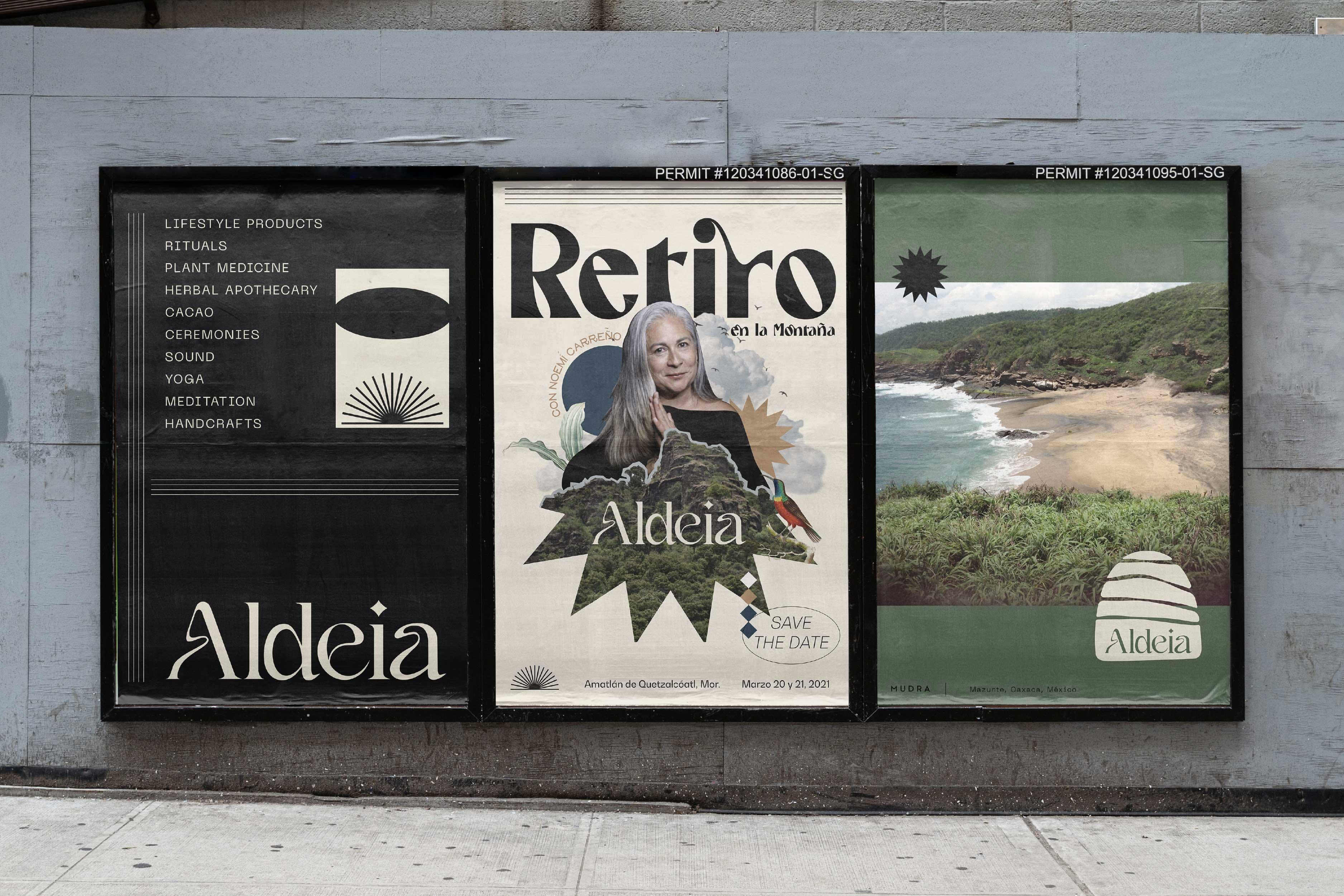 Pacheco Design Creates Aldeia Mudra New Branding
