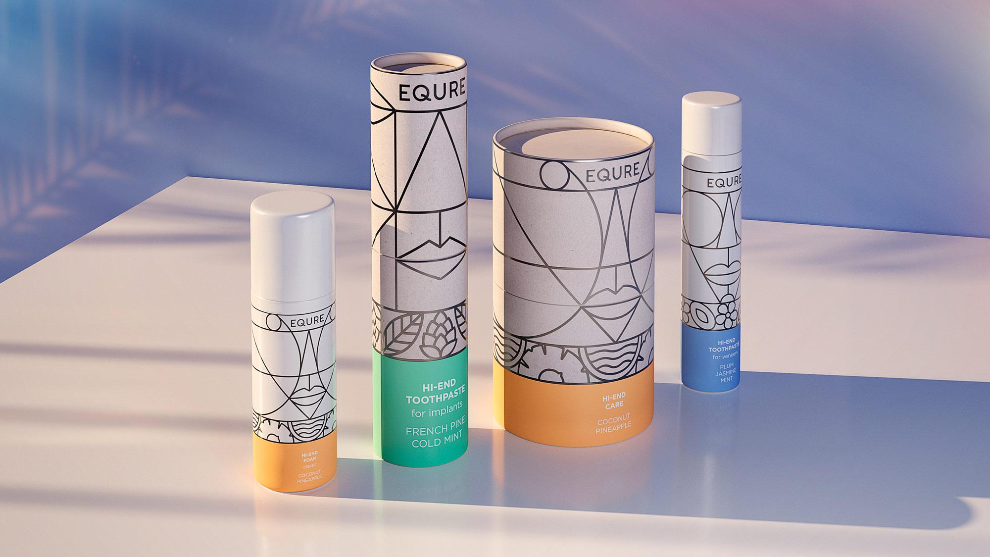 Repina Branding Develops Packaging Design for Equre