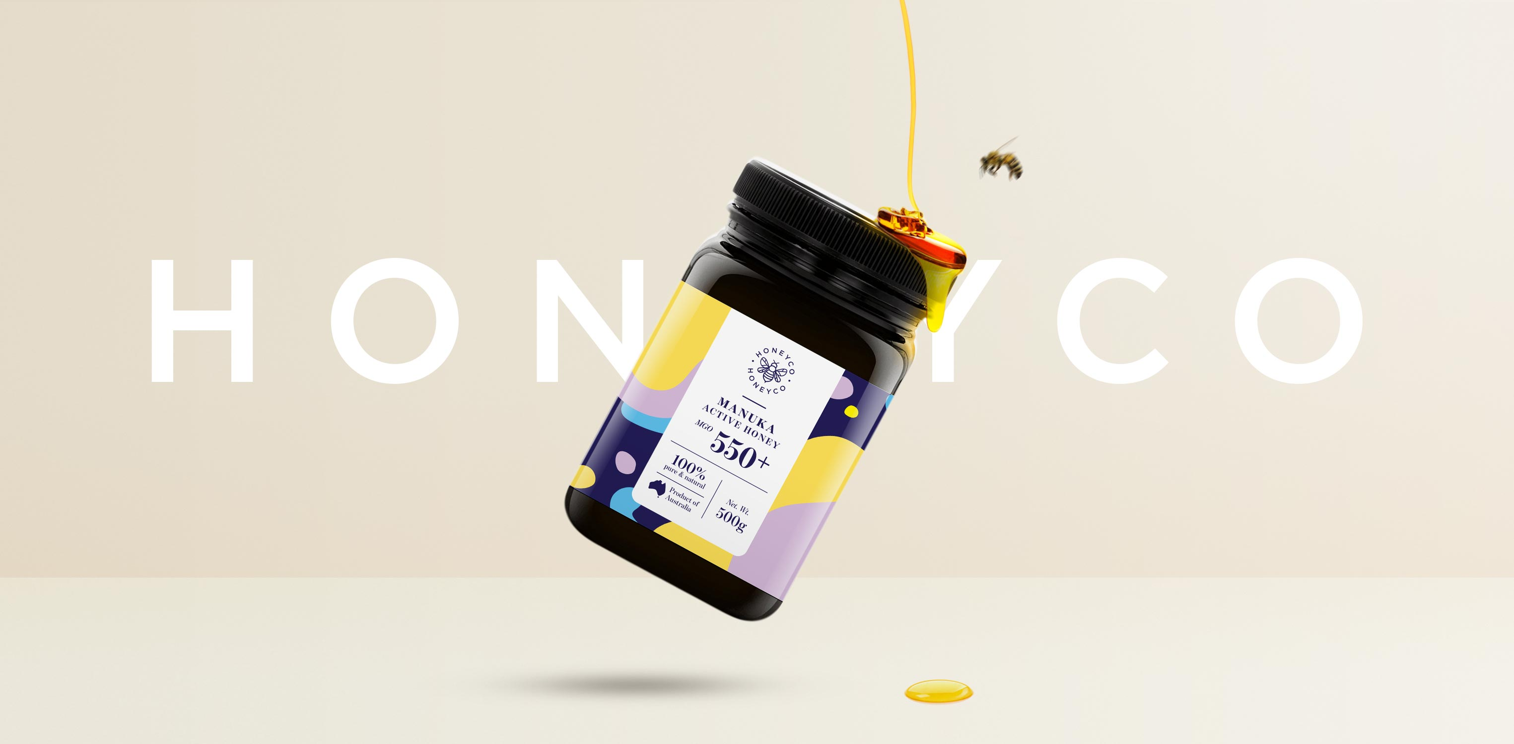 Active Manuka Honey Brand and Packaging from Sydney