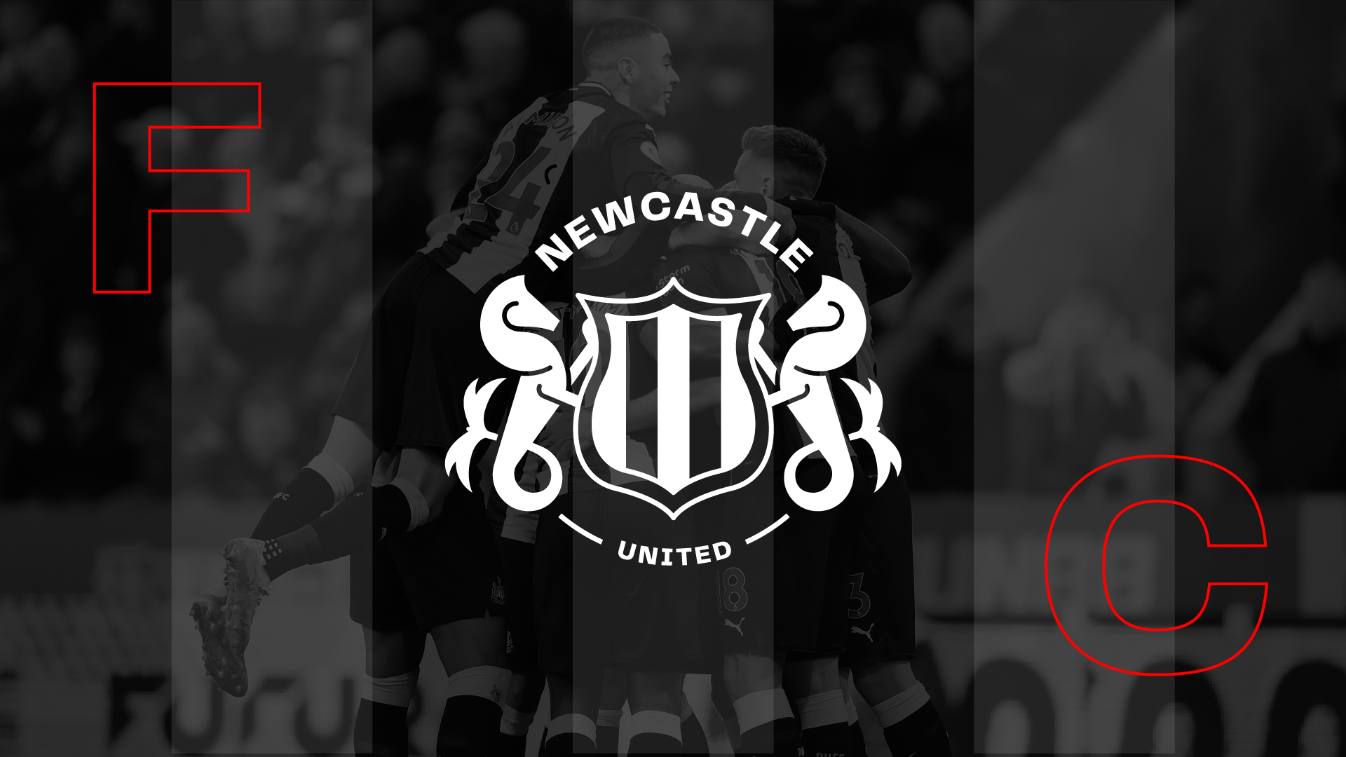 Newcastle United FC – Brand Identity & UI Redesign