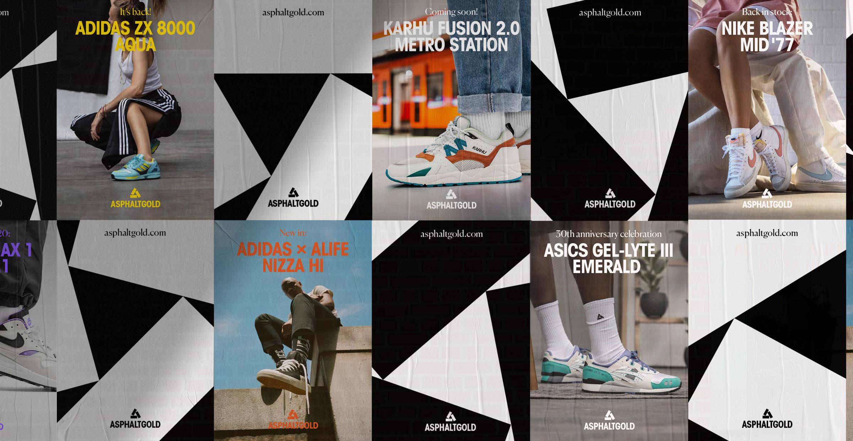 Asphaltgold Sneaker Shop Redesign By Arndt Benedikt