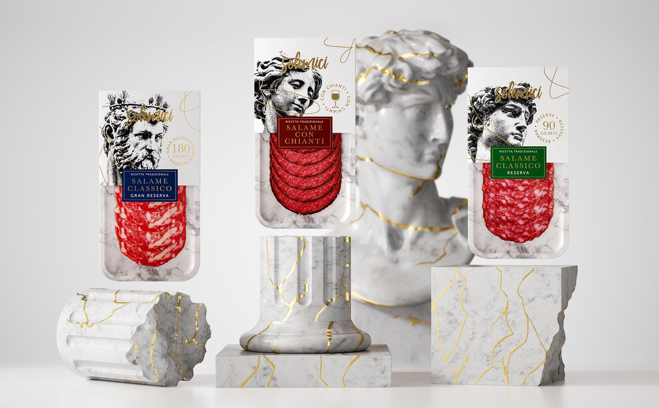 Dmitry Kultygin Creates New Packaging for Italian Meat Delicacies
