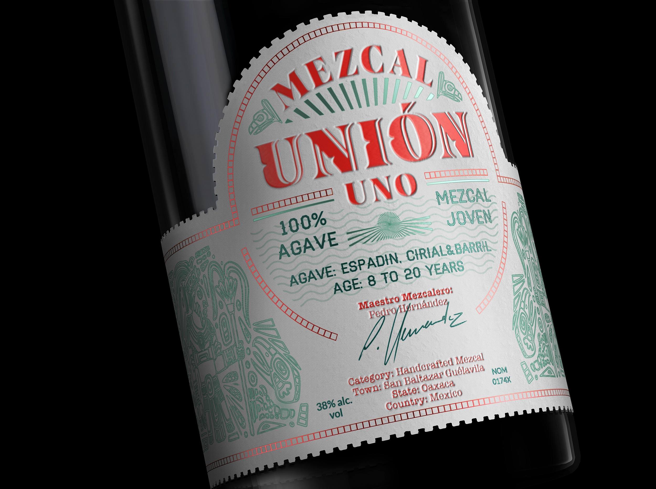 Studio Boam Creates a Concept Bottle for Mezcal Unión