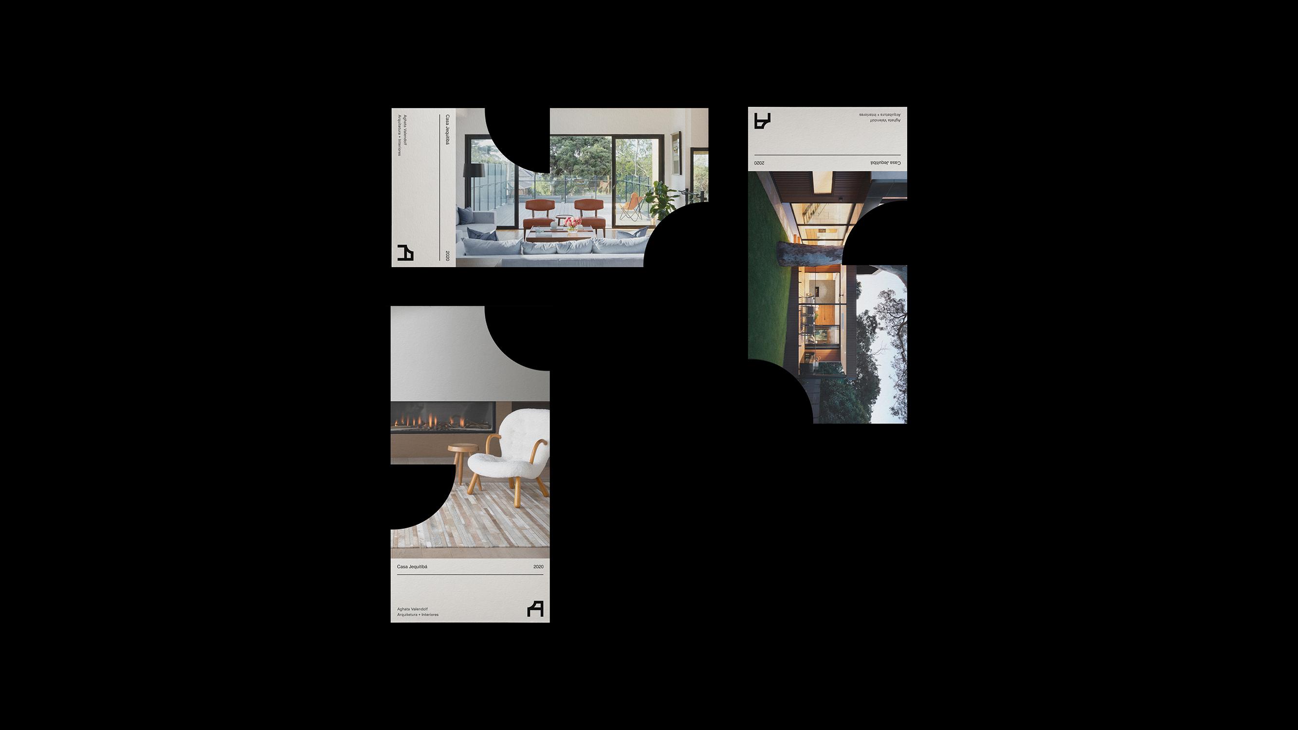 "Brand Identity for ""Agatha Valendolf Arquitetura+Interiores"""