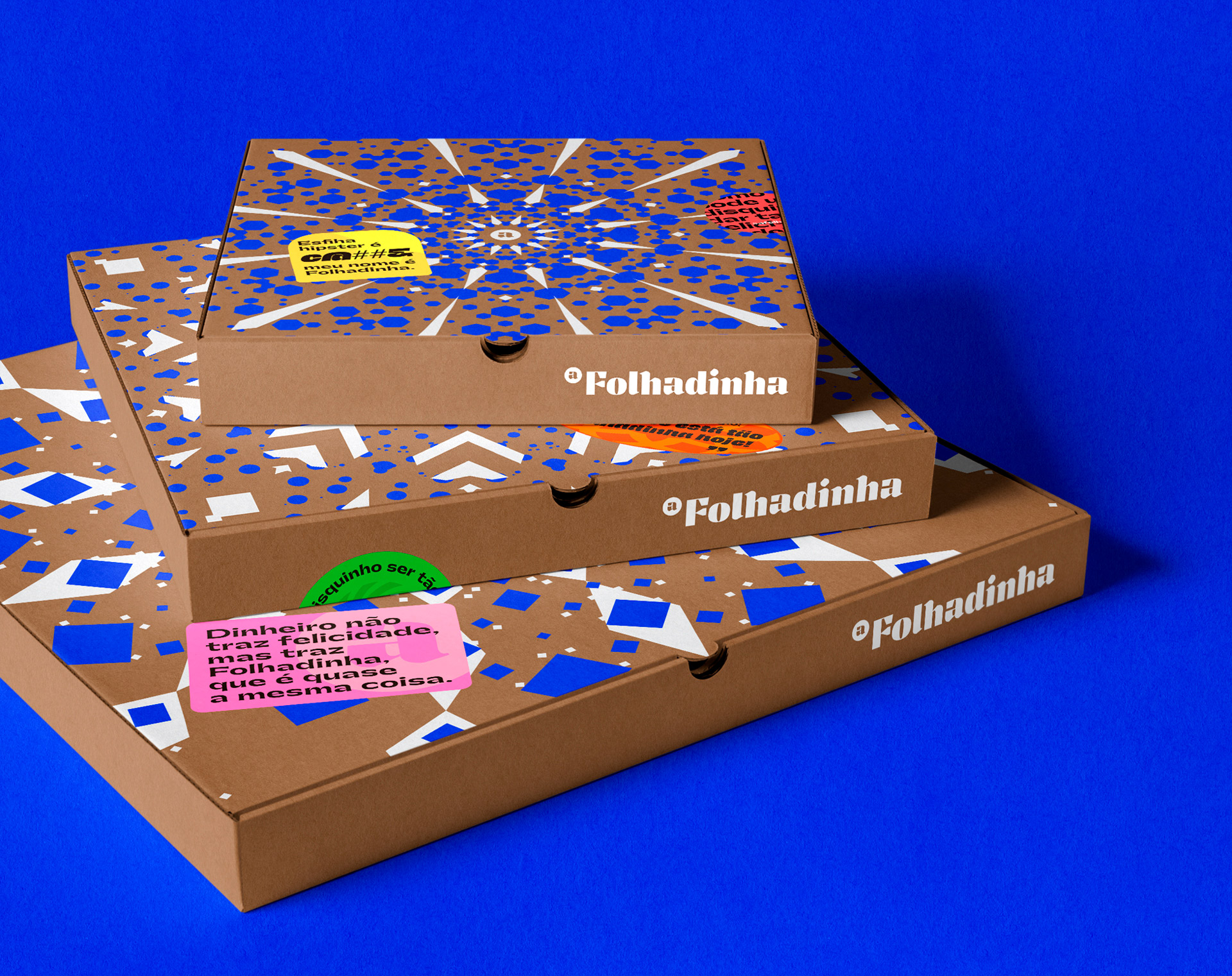 Folhadinha Arab Restaurant Packaging and Branding by Add Branding