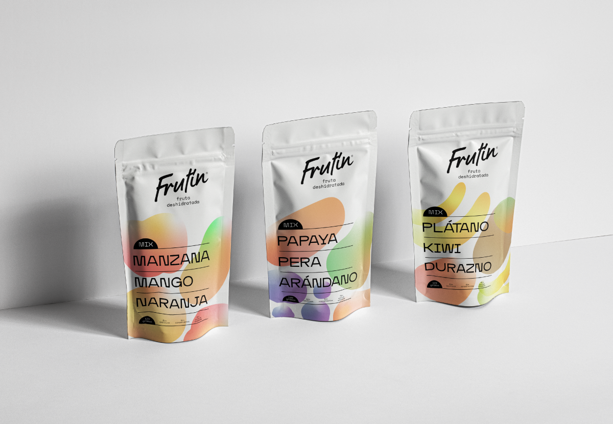 Oscar Daniel Erazo Creates Concept Packaging Design for Frutín Fried Fruits
