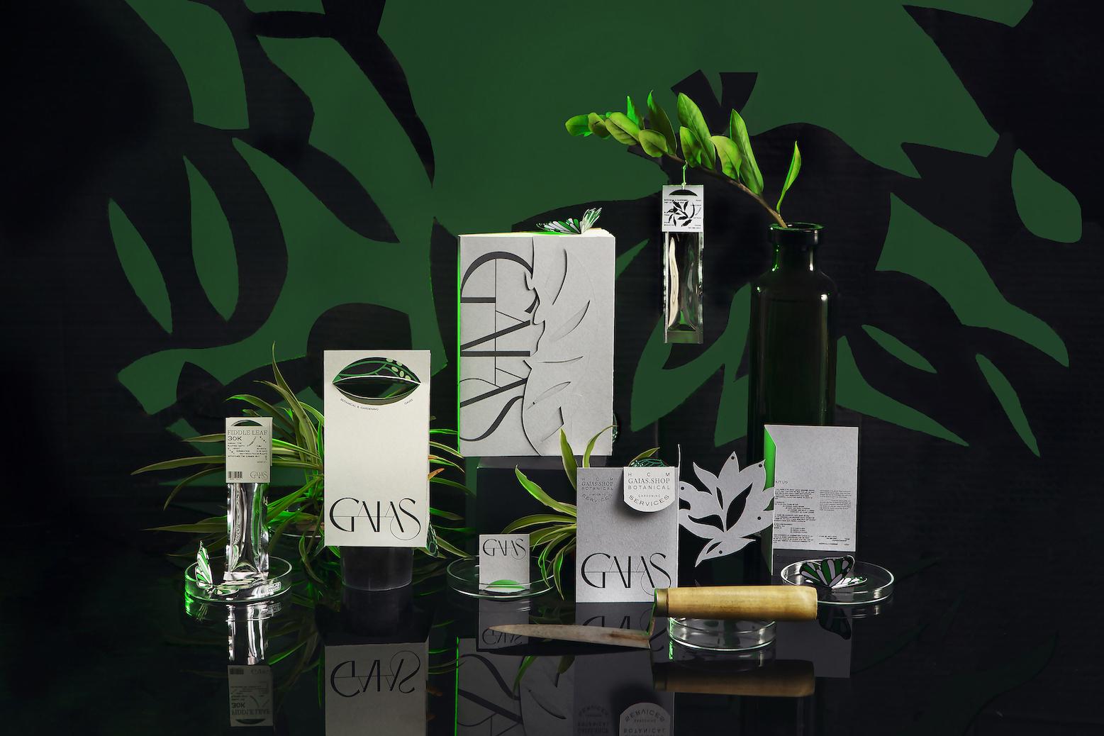 Alex Dang Creates Gaias Branding for a Community of Nature Protectors