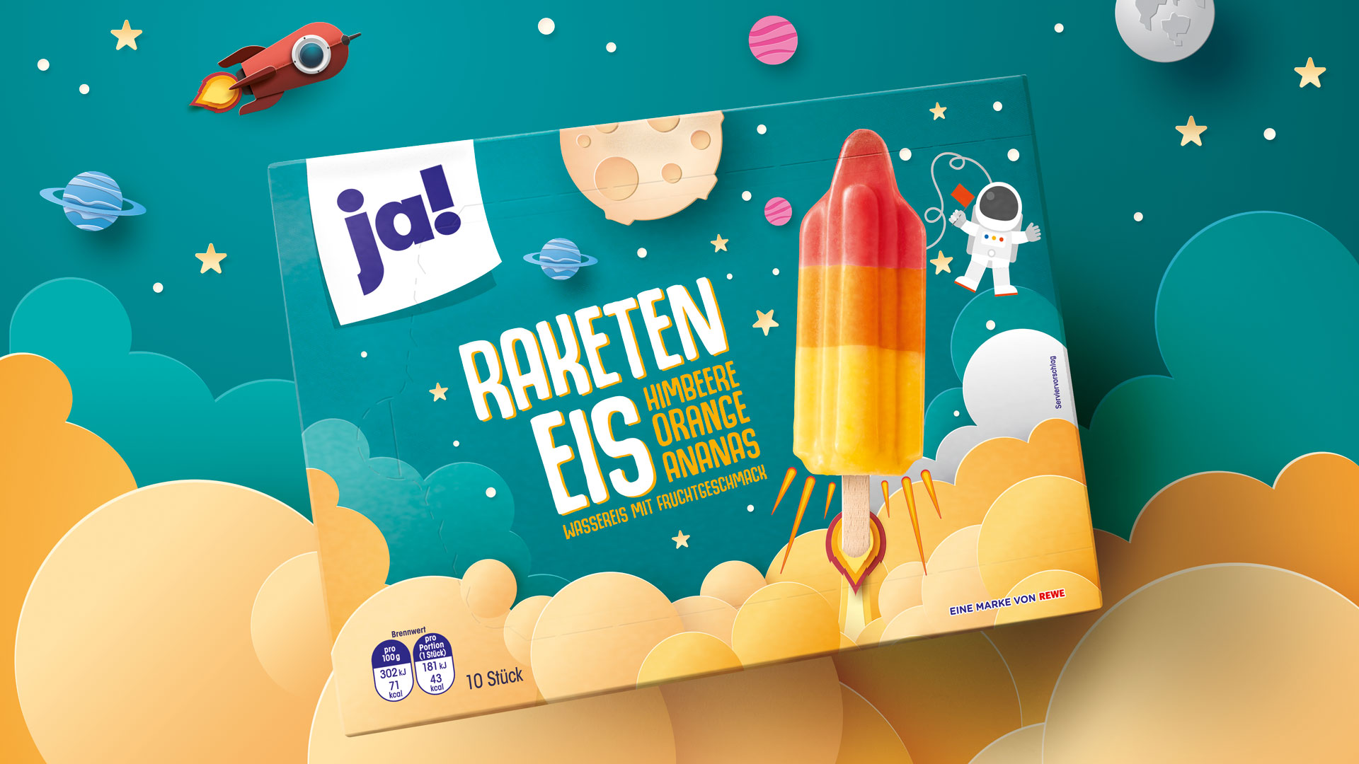 Portfolio Relaunch of Own Brand ja! by Hajok Design