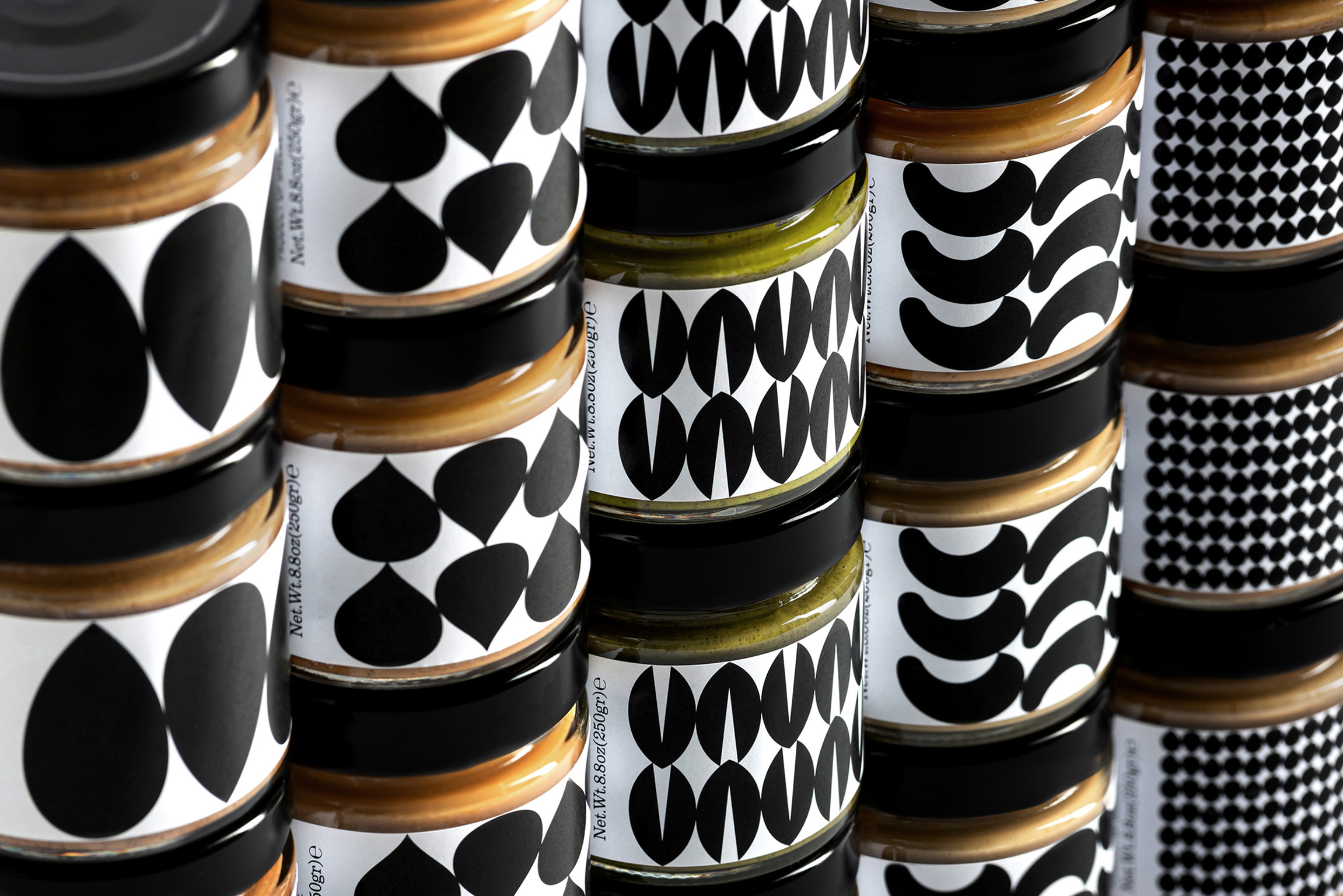 Eye Catching Packaging Design for Natural Nut Butters