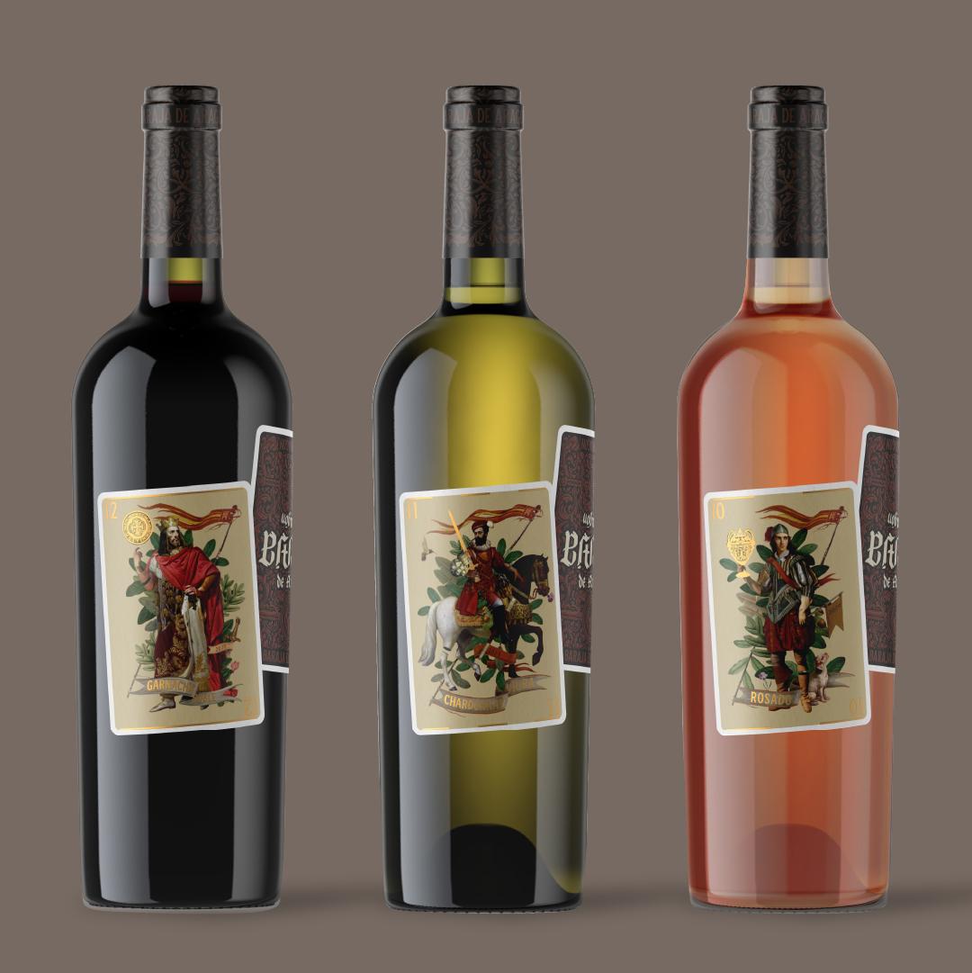 Estudio Argo Creates Wine Packaging Design for Baraja de Aragón