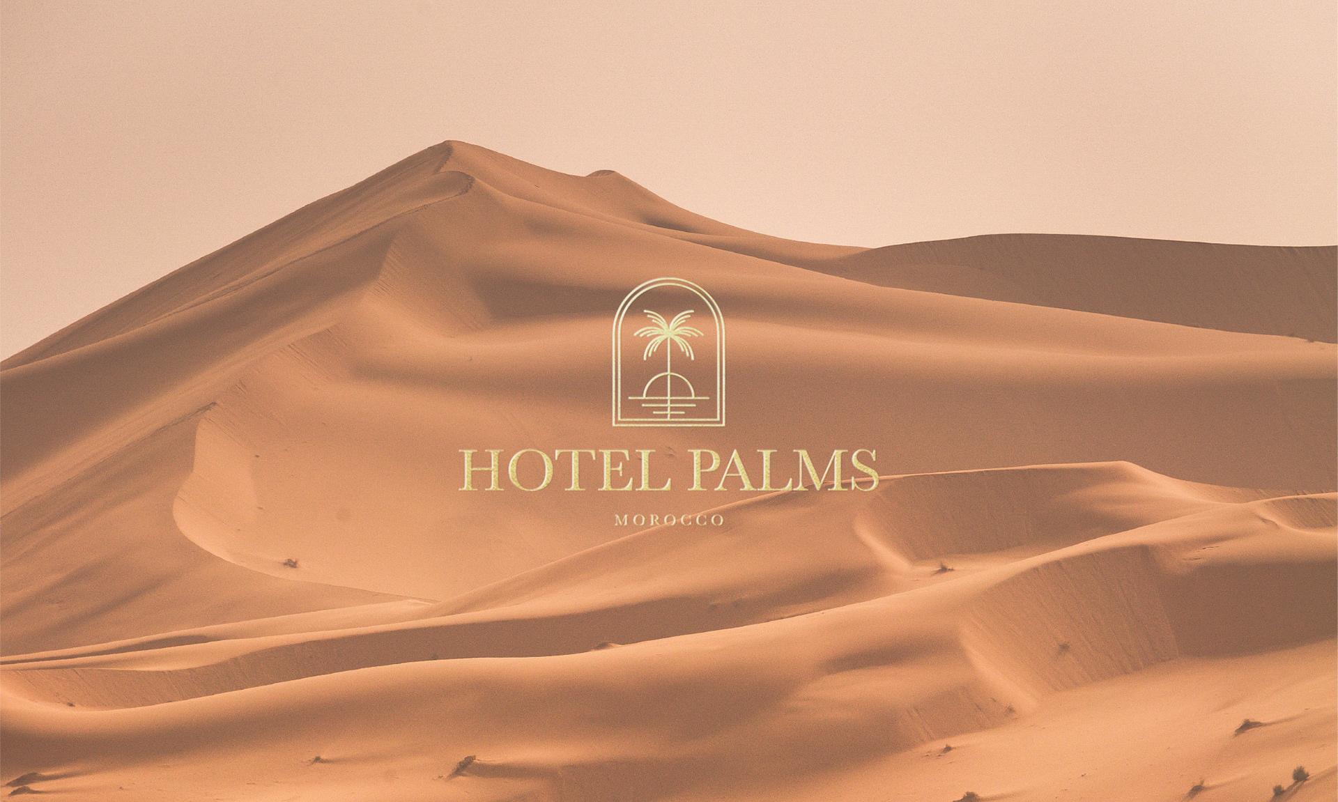Hotel Palms Branding Design by Marka Works Branding Agency