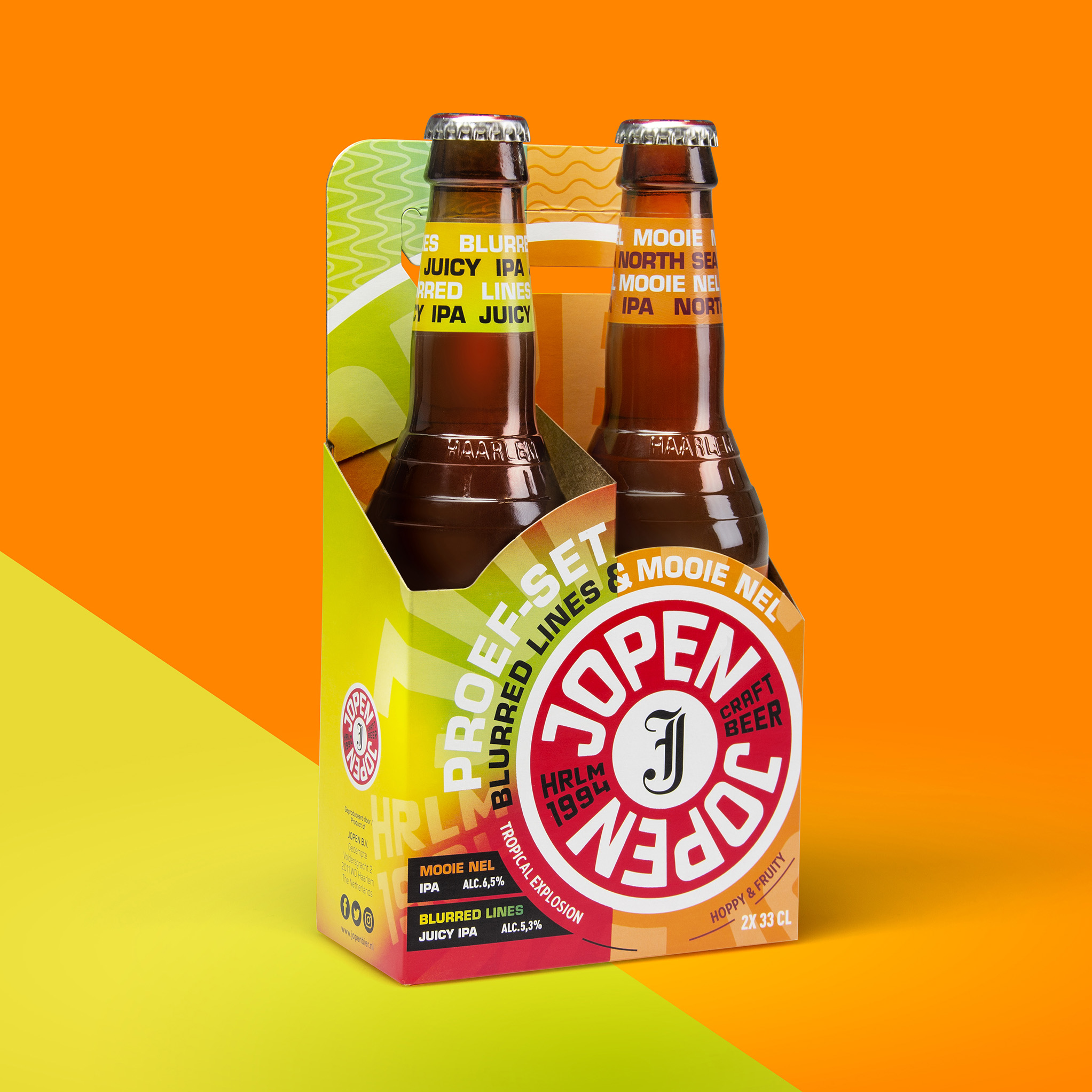 Jopen Craft Beer Two-Pack Design by Van Heertum Design VHD