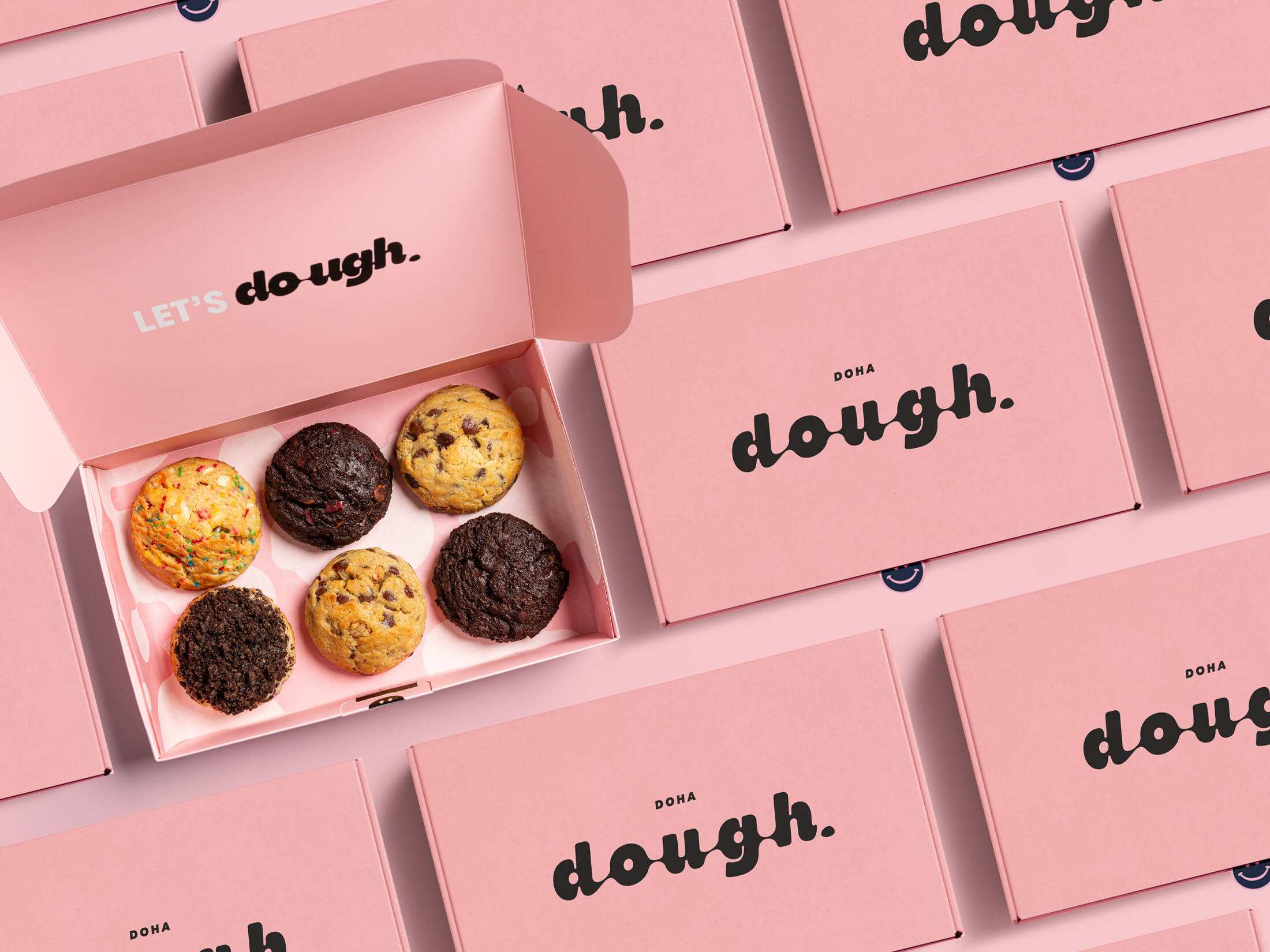 My Creative Get the Dough on the Road by Rebranding the New Cookie Company