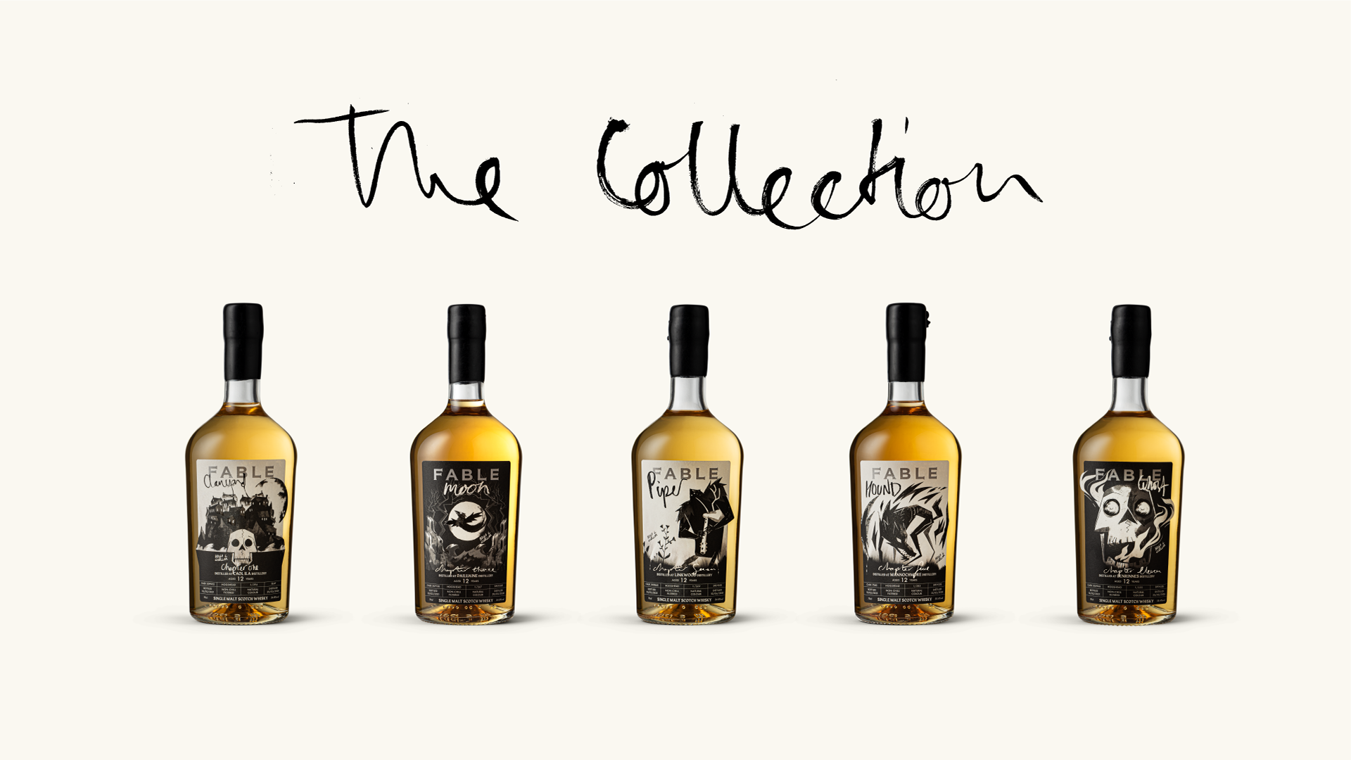 Fable Whisky Brand to Capture New Imaginations – Designed by gpstudio