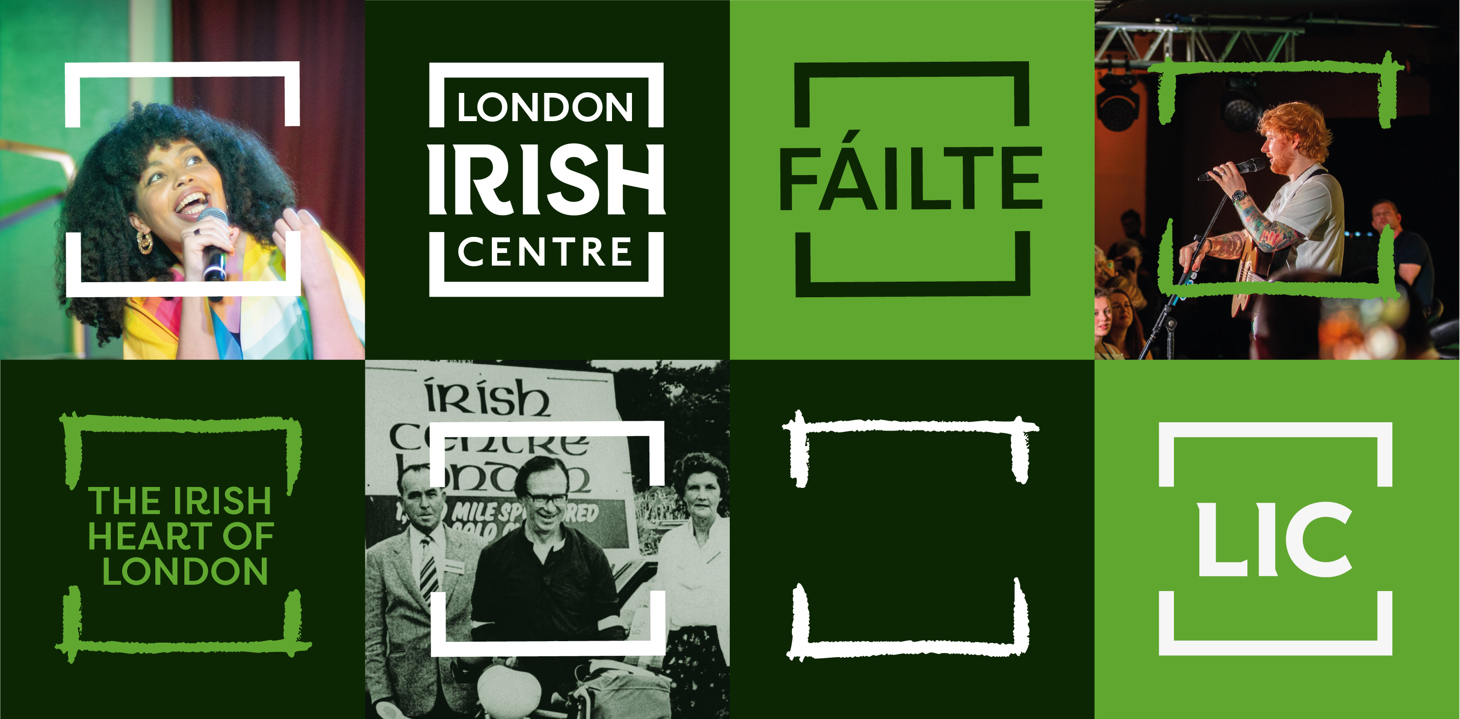 Rebranding the Irish Heart of London Created by Dearness Only