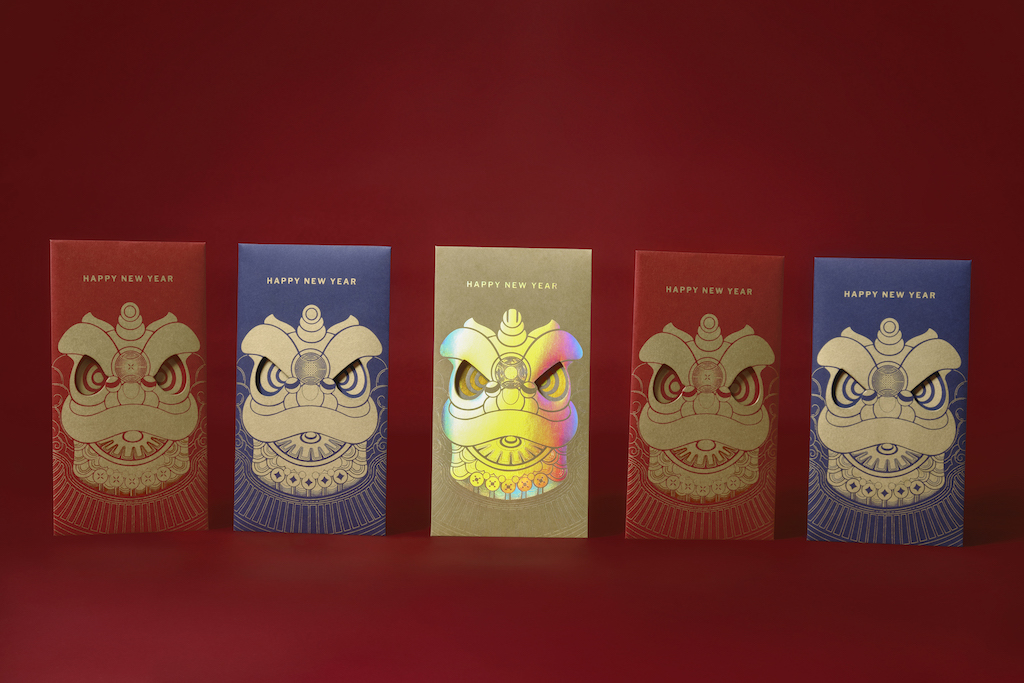Red Envelope for Lunar New Year 2021 Designed by Bracom Agency